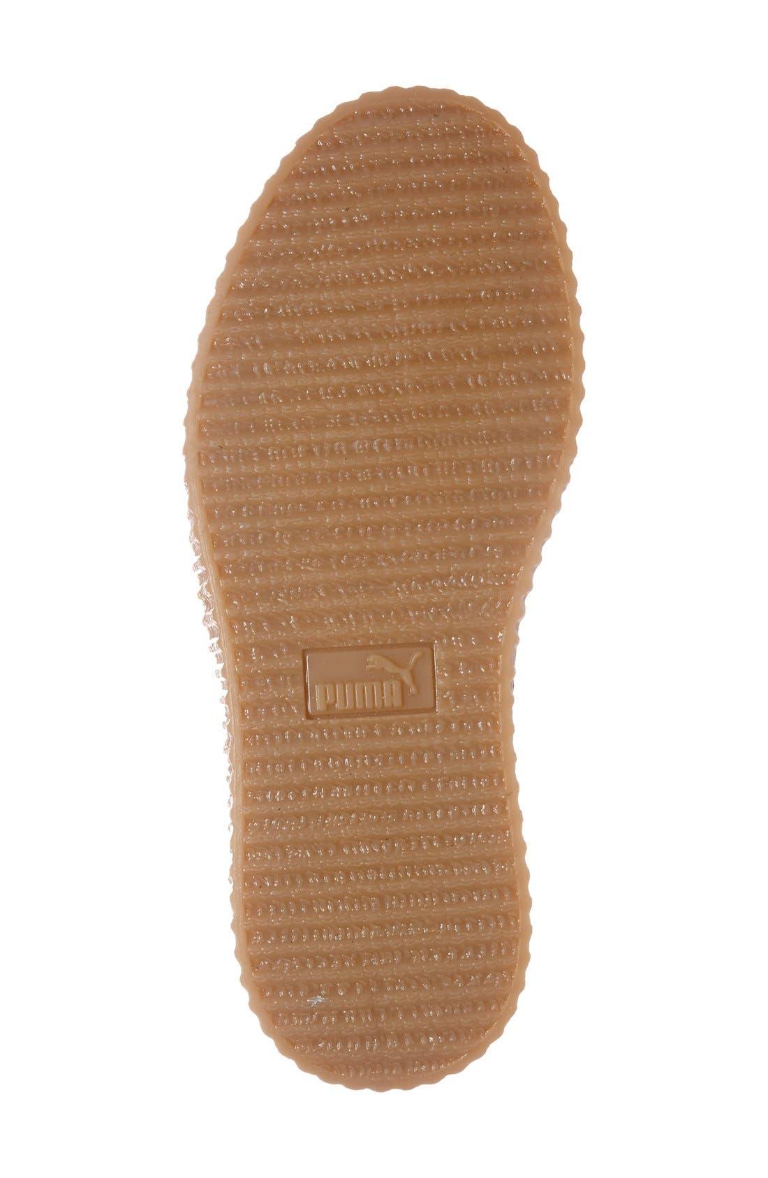 FENTY PUMA by Rihanna Creeper Sneaker,                             Alternate thumbnail 55, color,
