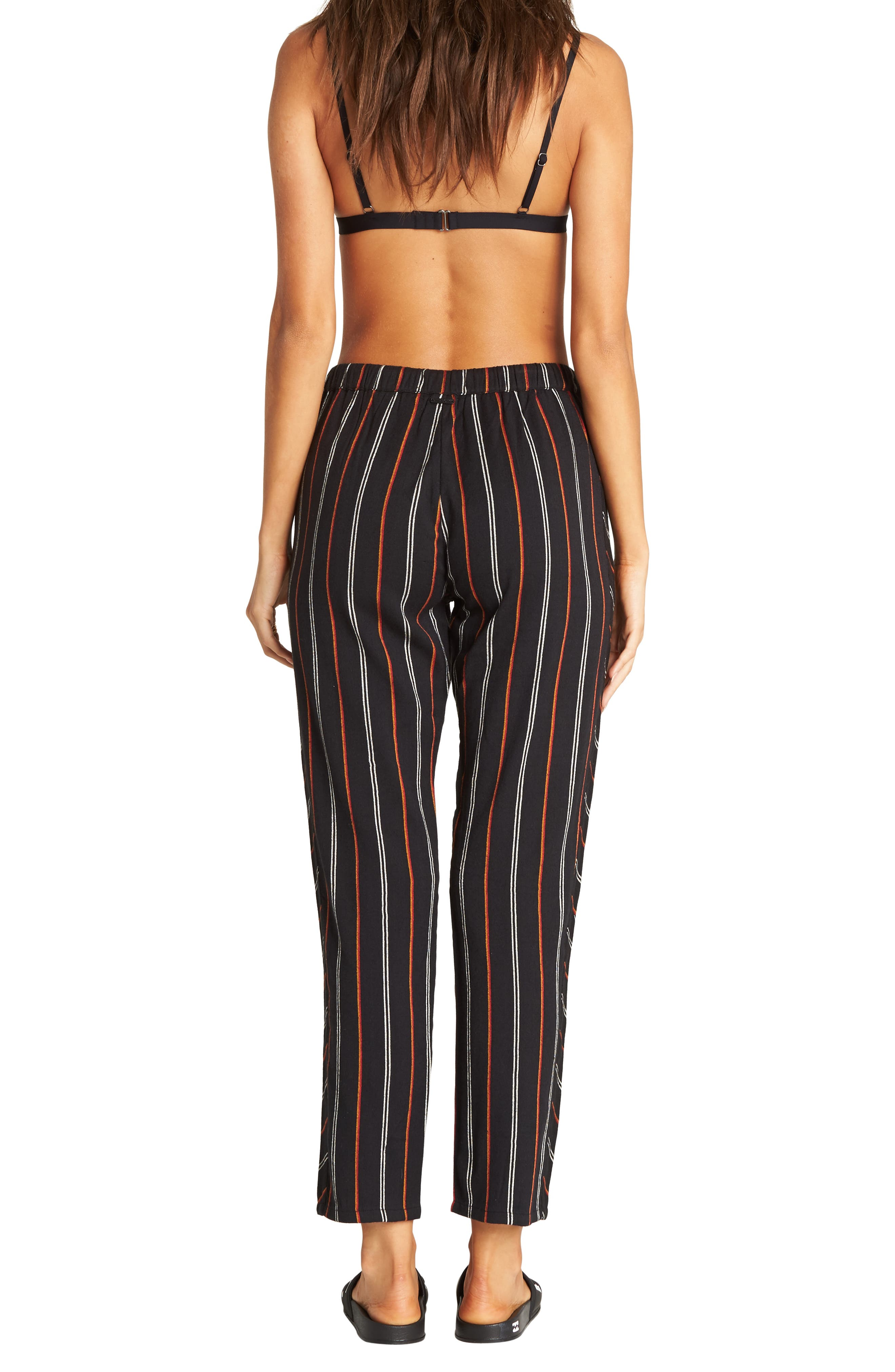 So Pro Pinstripe Pants,                             Alternate thumbnail 2, color,                             BLACK