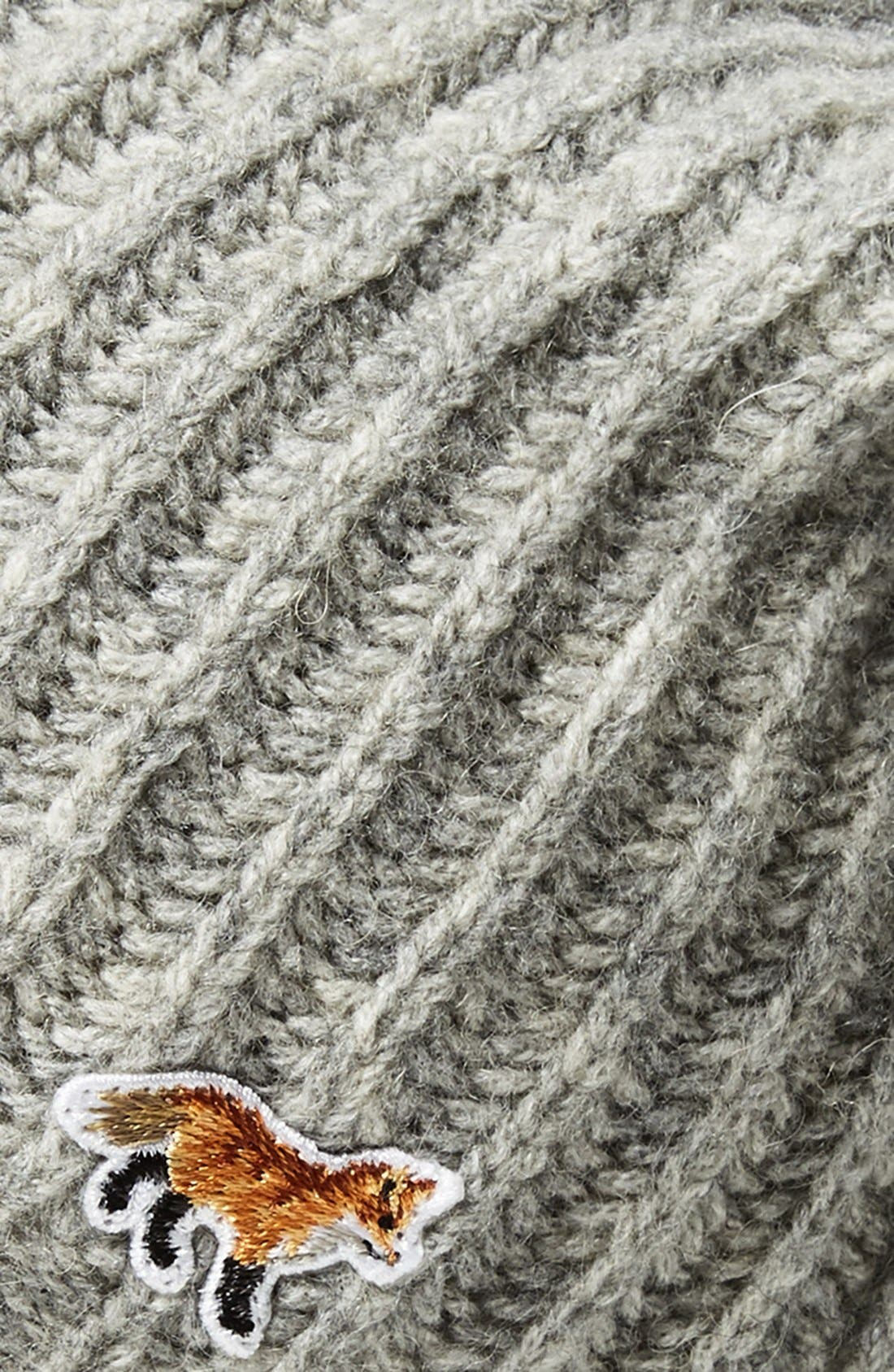 Wool Blend Beanie,                             Alternate thumbnail 2, color,                             020