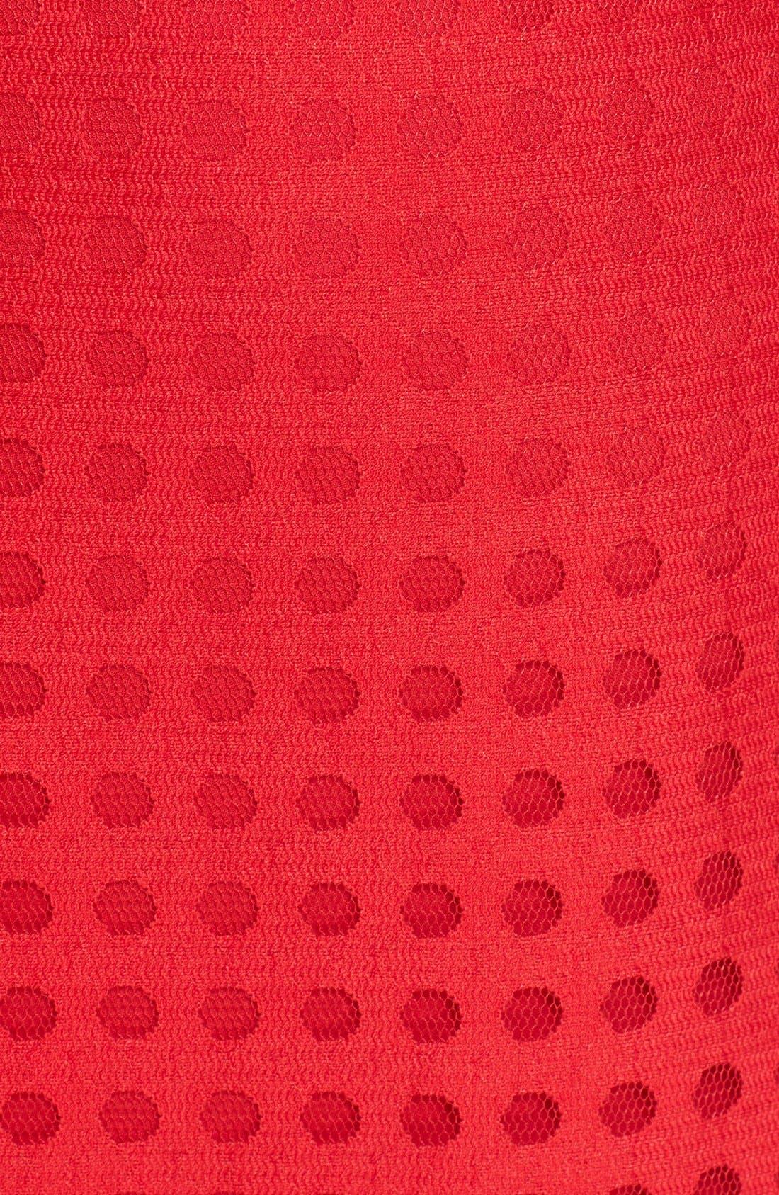 Mesh Pencil Skirt,                             Alternate thumbnail 6, color,                             600
