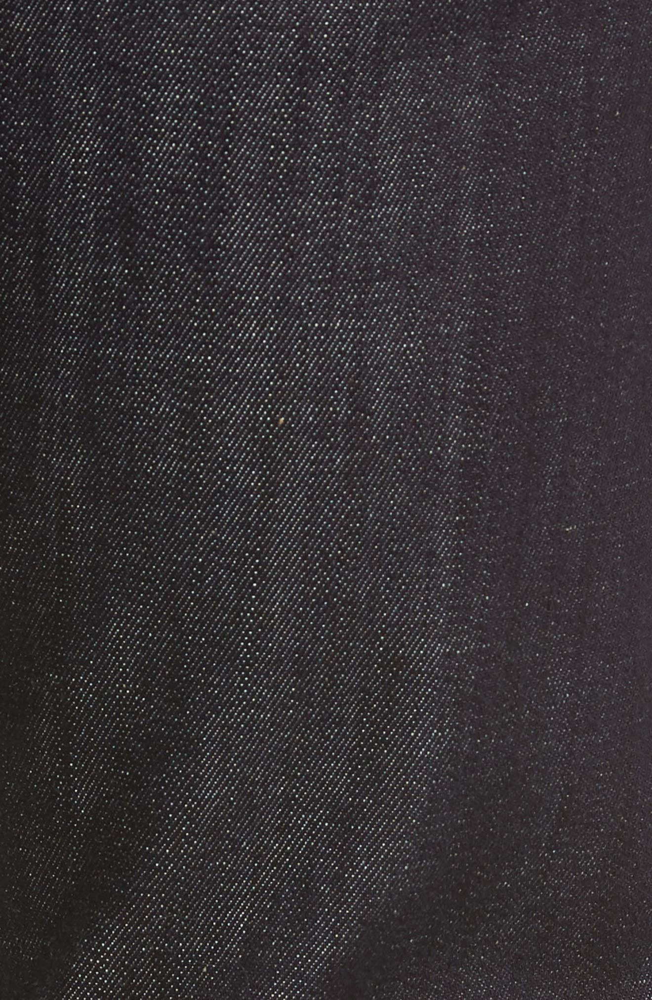 'Standard' Straight Leg Jeans,                             Alternate thumbnail 6, color,                             DARK AND CLEAN