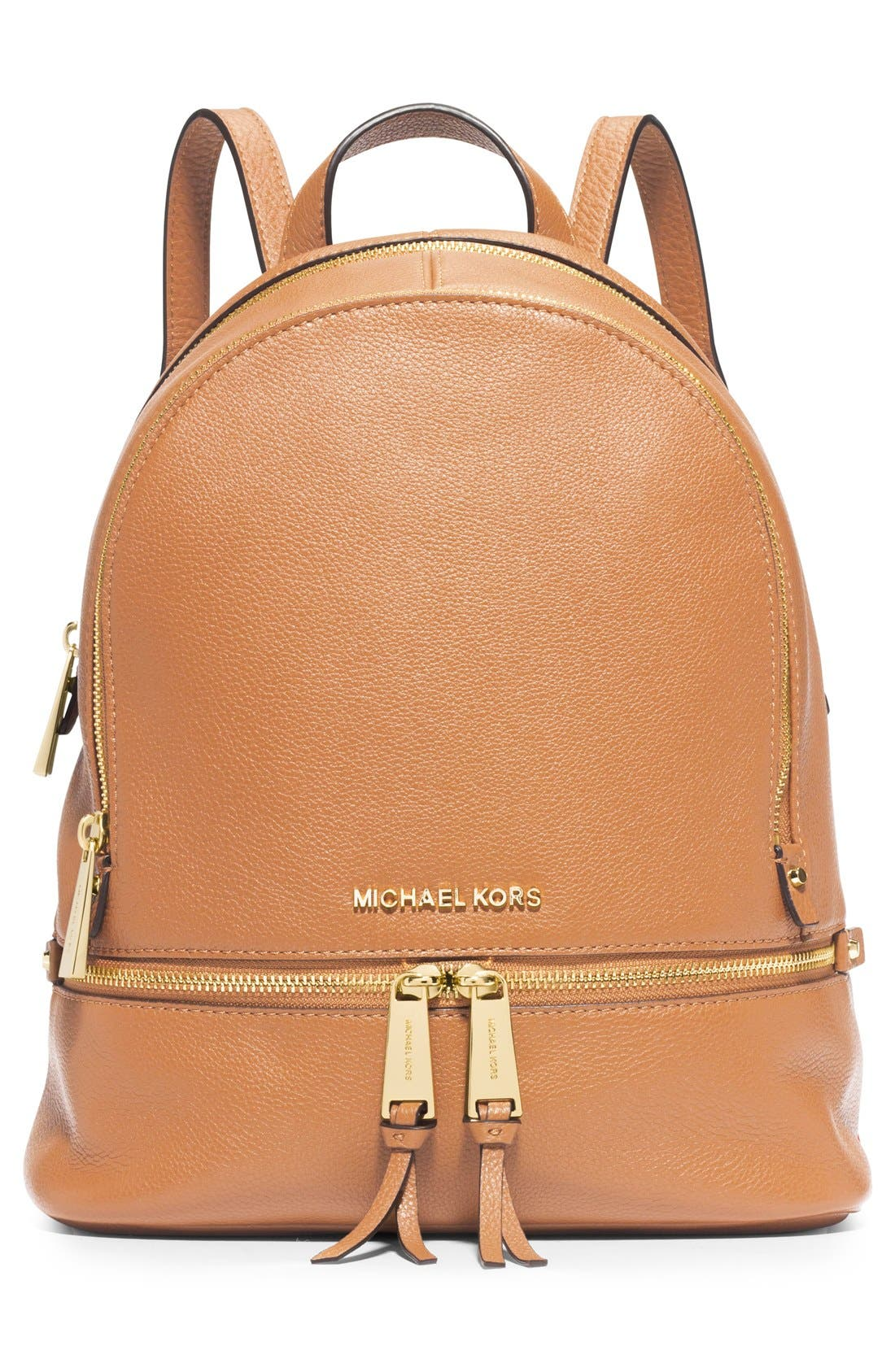 'Extra Small Rhea Zip' Leather Backpack,                             Main thumbnail 5, color,