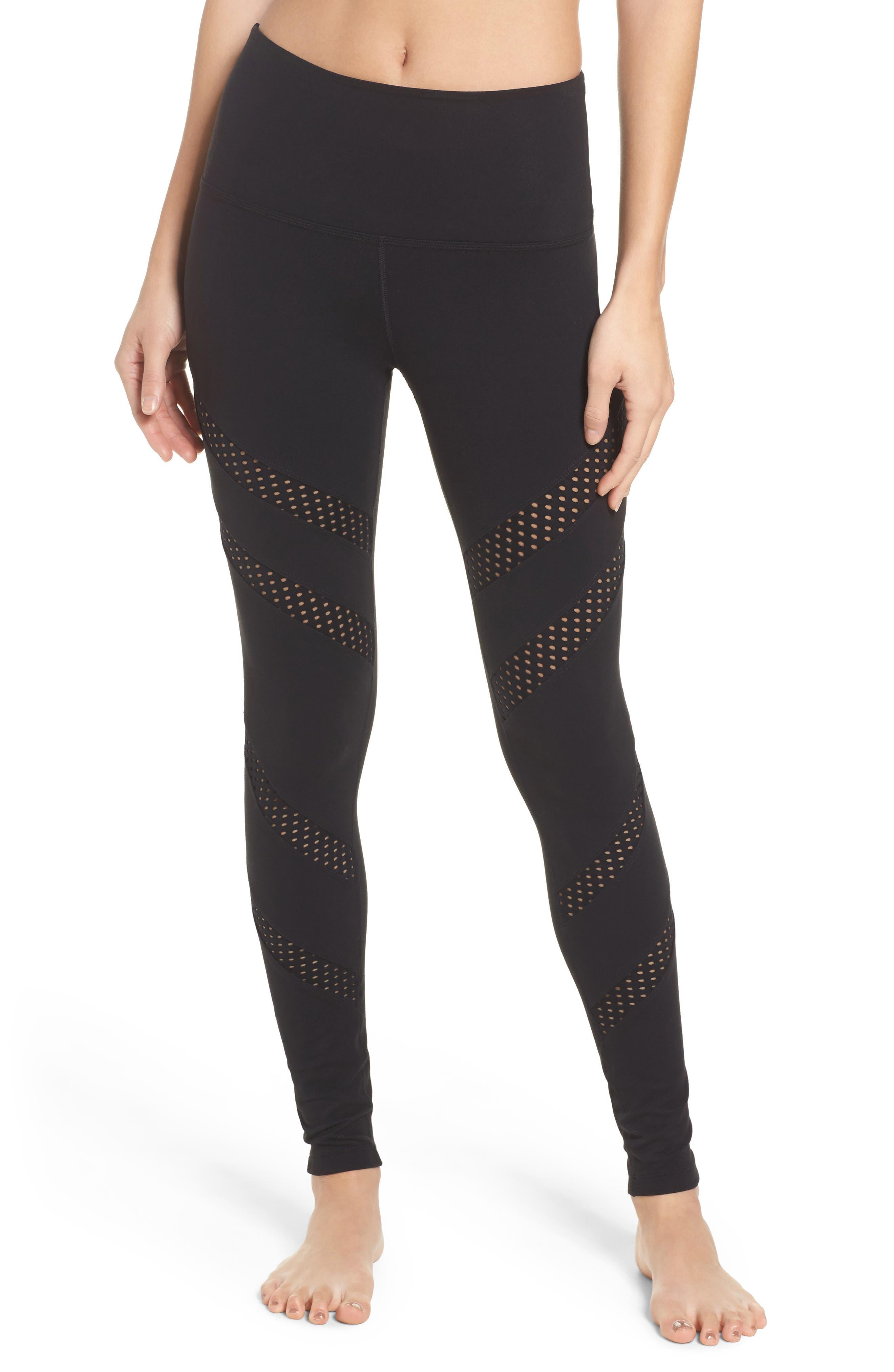 Make a Slash High Waist Leggings,                         Main,                         color, 002