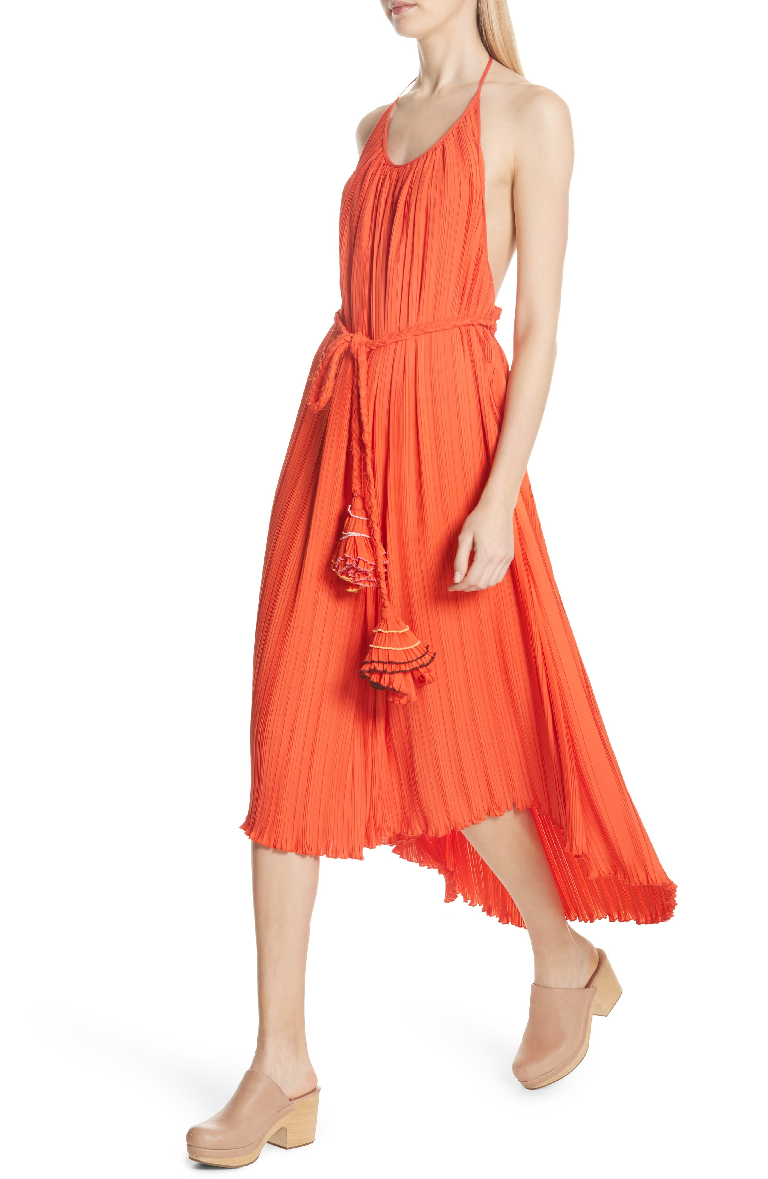 RACHEL COMEY,                             Sambuca Halter Dress,                             Alternate thumbnail 4, color,                             959