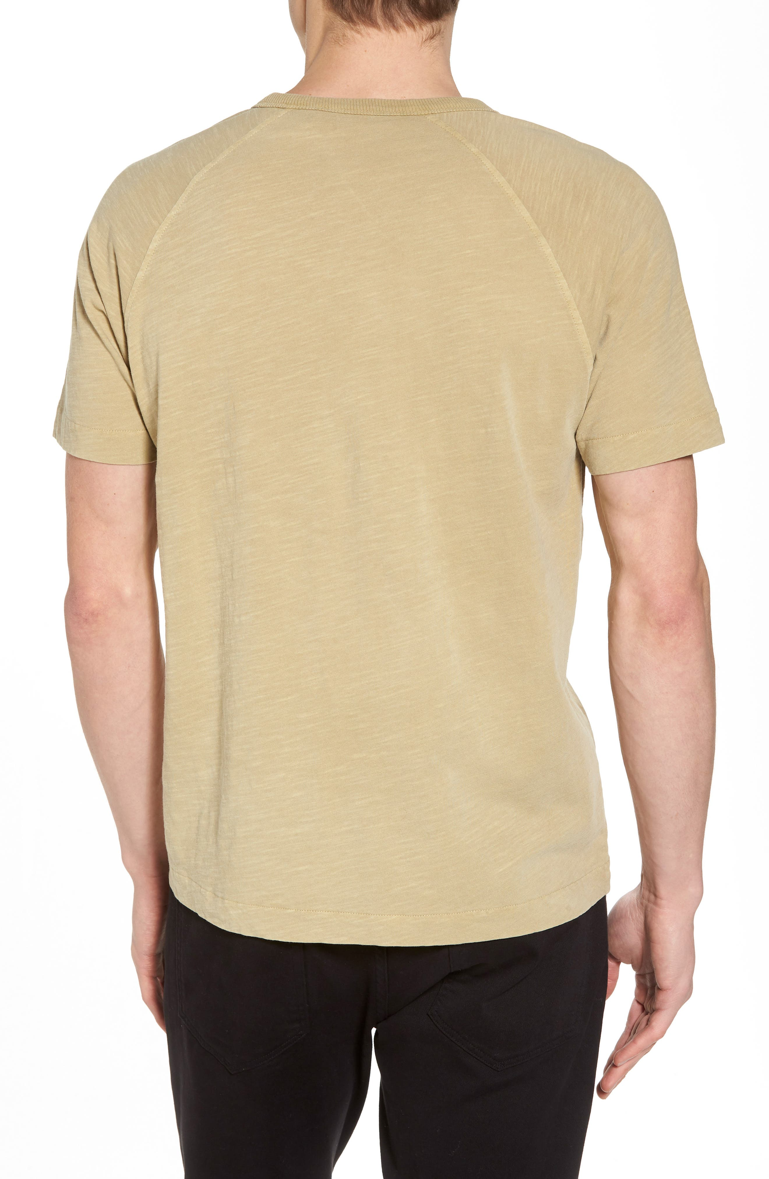 YMC,                             Television Raglan T-Shirt,                             Alternate thumbnail 2, color,                             250