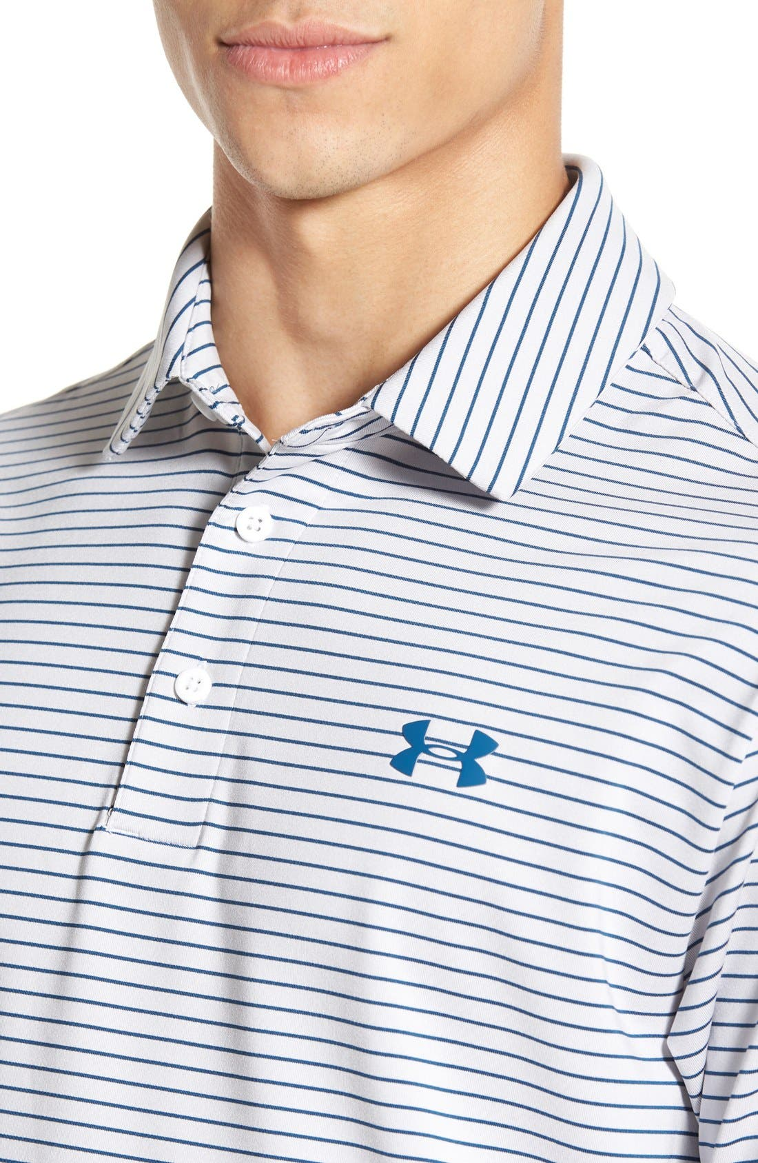 'Playoff' Loose Fit Short Sleeve Polo,                             Alternate thumbnail 74, color,