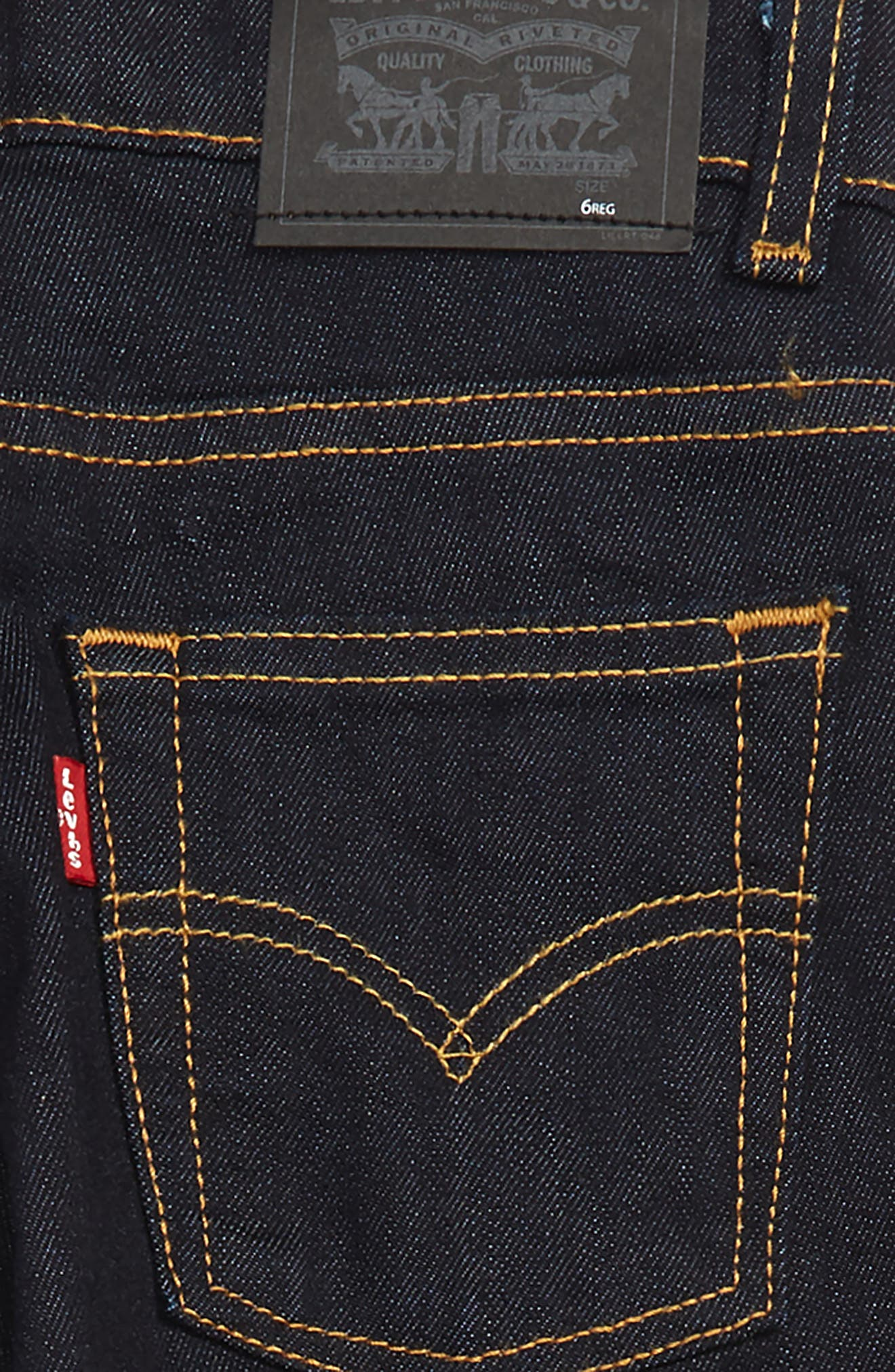 511<sup>™</sup> Knit Slim Leg Jeans,                             Alternate thumbnail 3, color,                             EARLY NAVY