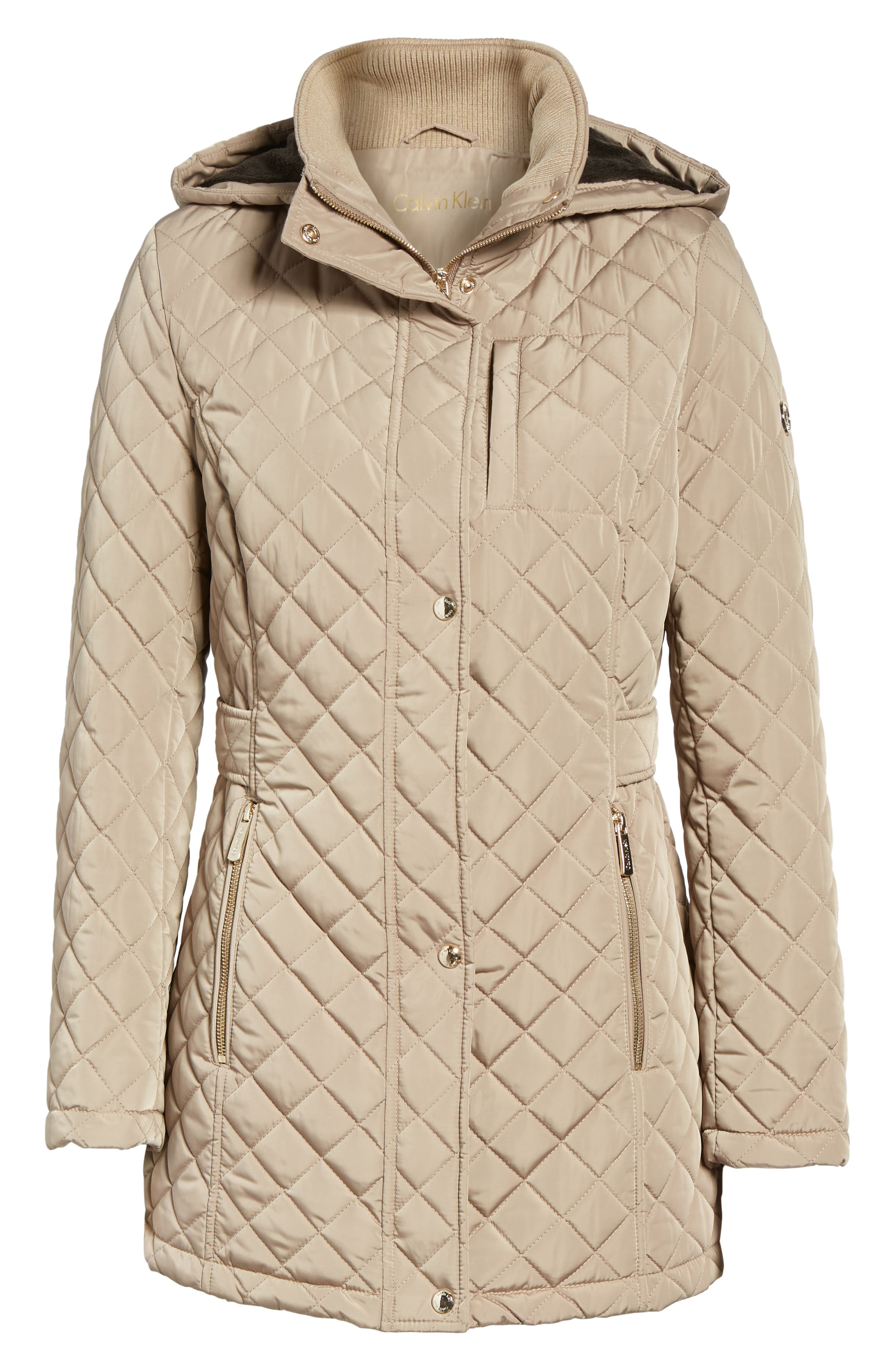 Hooded Quilted Jacket,                             Alternate thumbnail 31, color,