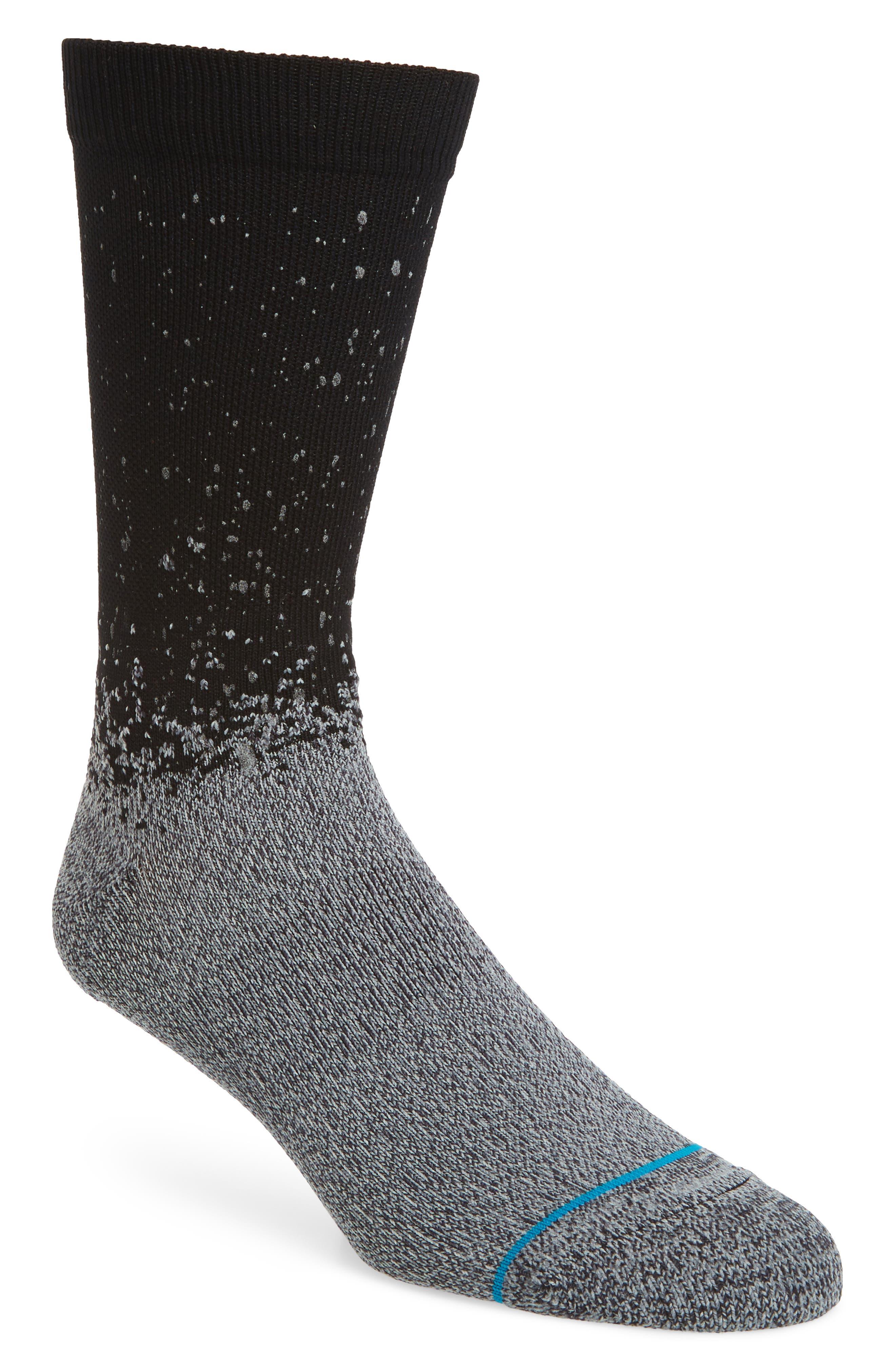 Spek Socks,                             Main thumbnail 1, color,                             BLACK