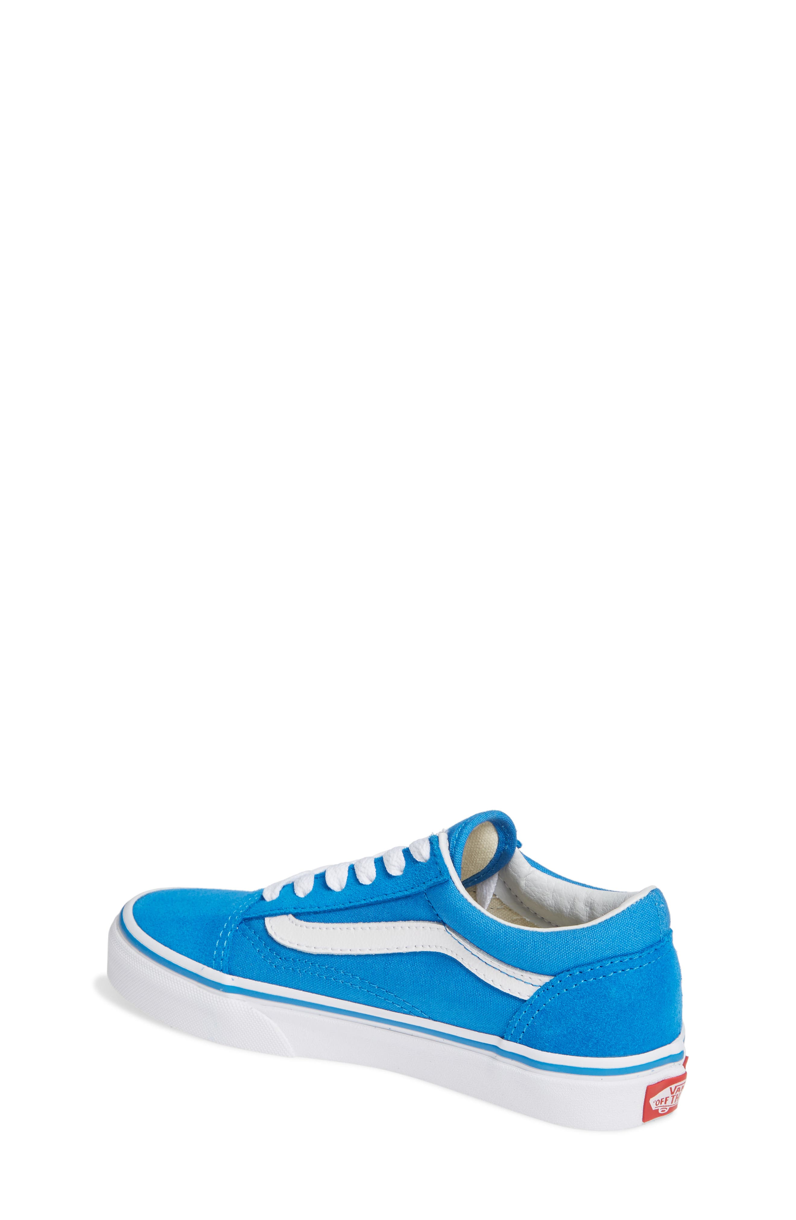 Old Skool Sneaker,                             Alternate thumbnail 2, color,                             INDIGO BUNTING/ TRUE WHITE