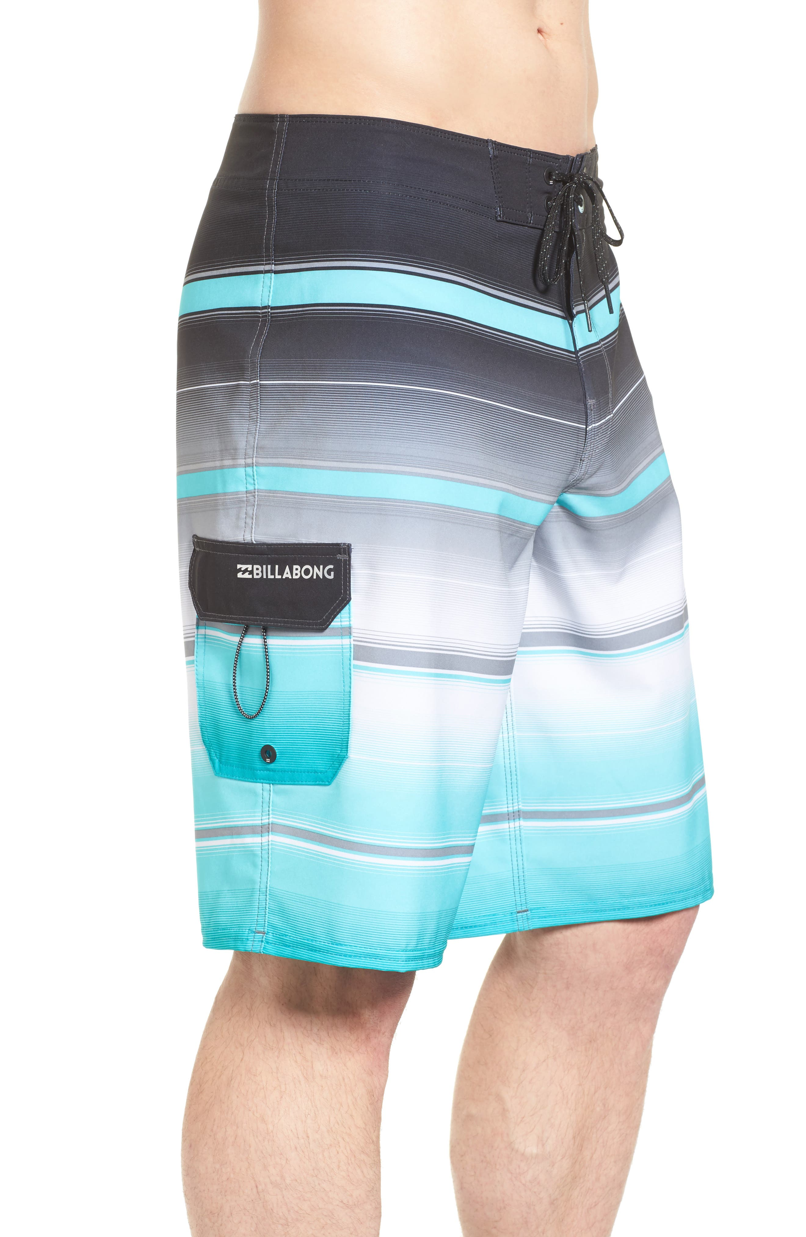 All Day X Stripe Board Shorts,                             Alternate thumbnail 11, color,