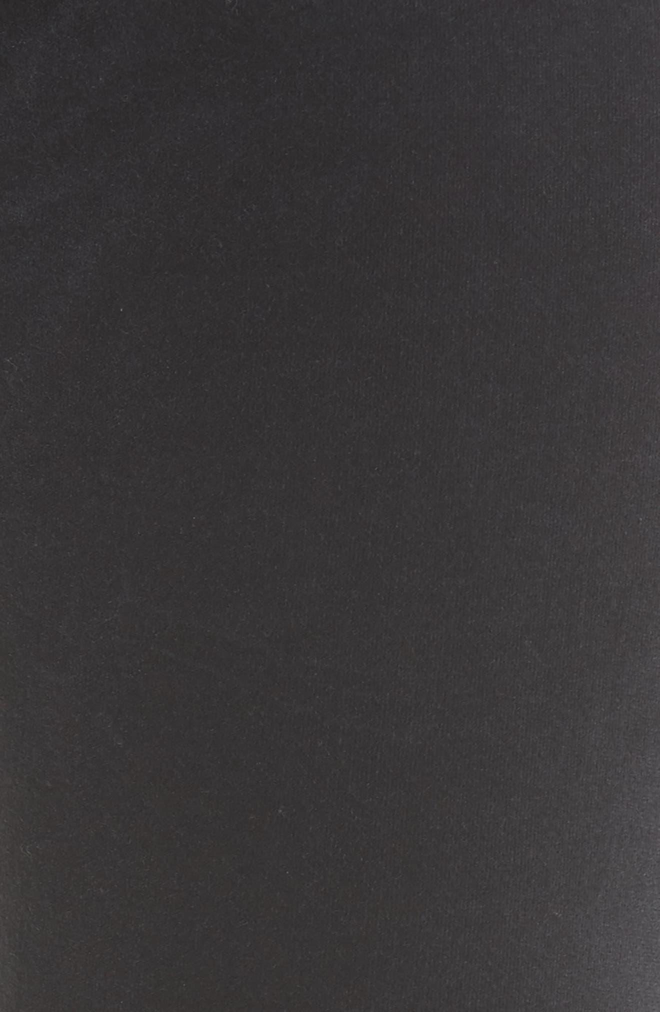 Velvet Skinny Jeans,                             Alternate thumbnail 5, color,                             002