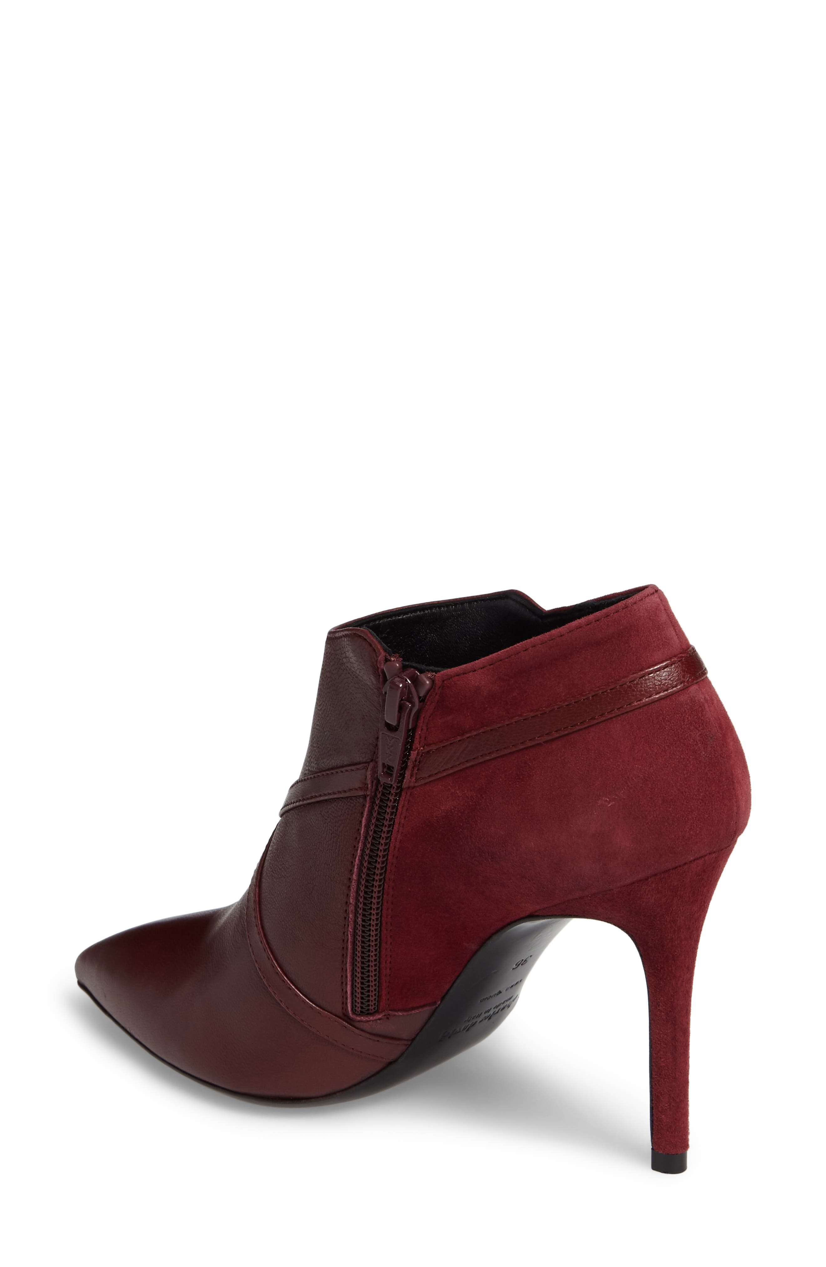 Laura Cross Strap Bootie,                             Alternate thumbnail 2, color,                             930