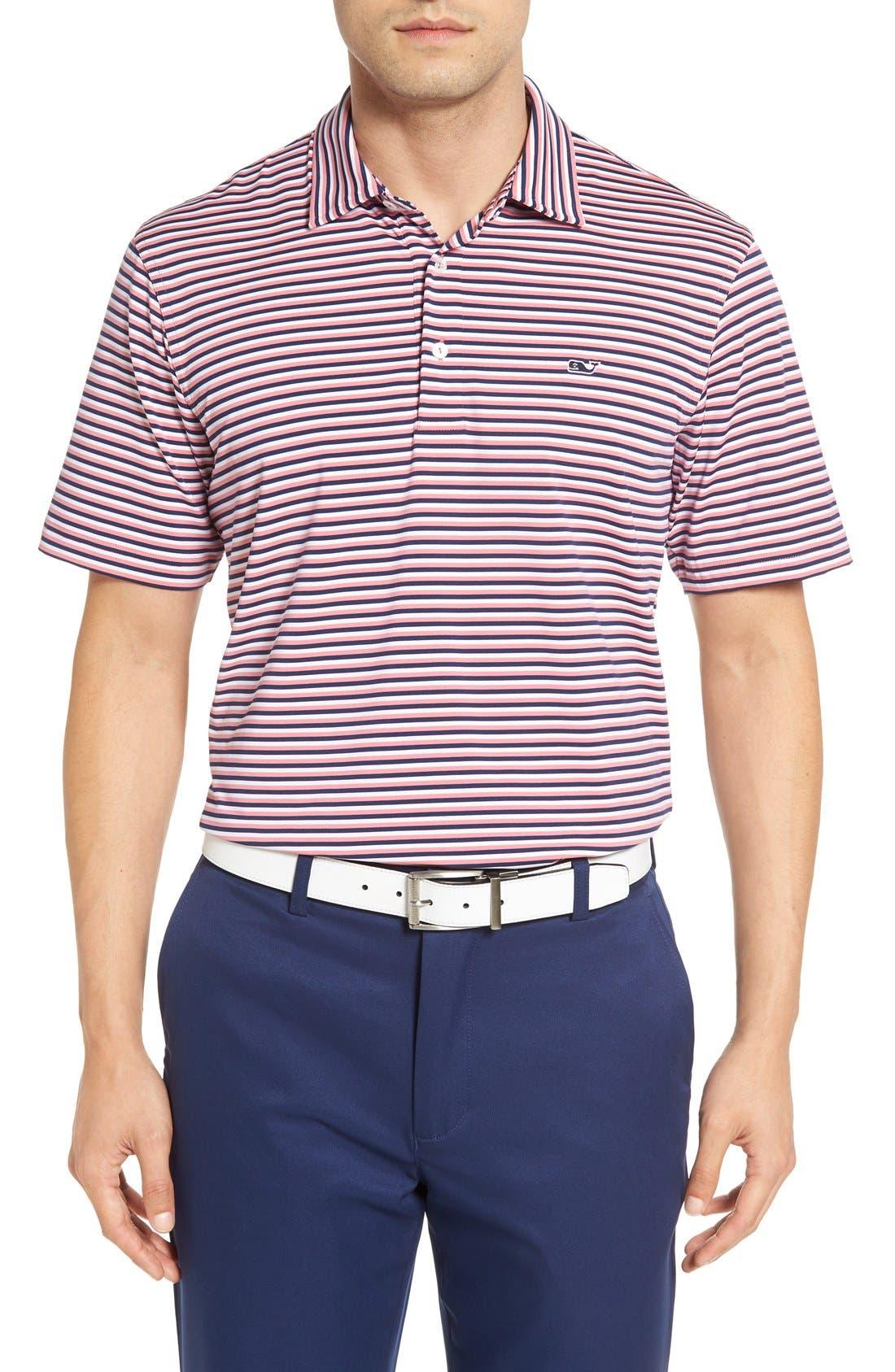 Kennedy Stripe Golf Polo,                             Main thumbnail 15, color,