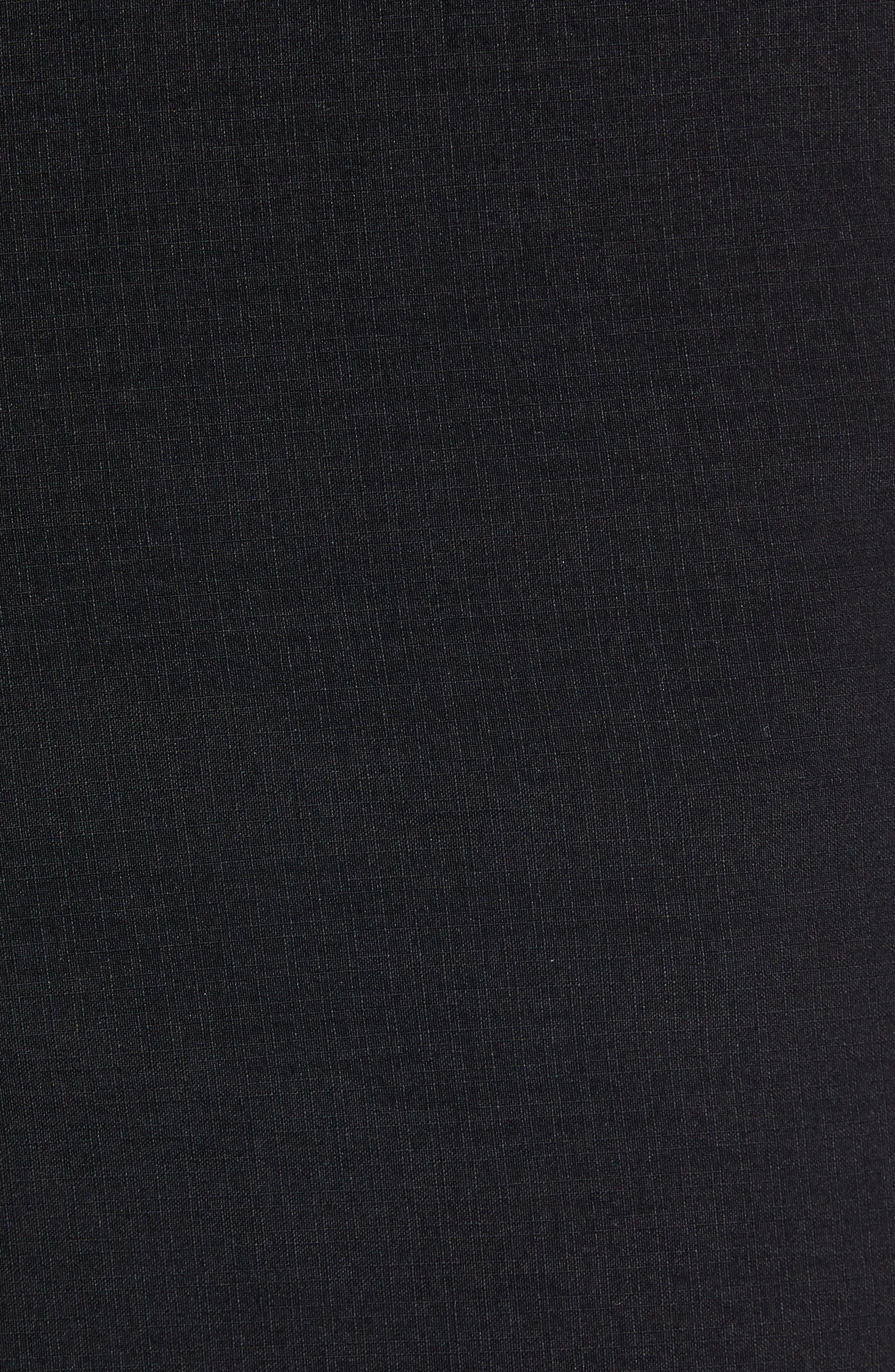 Surfreak Hybrid Shorts,                             Alternate thumbnail 5, color,                             BLACK