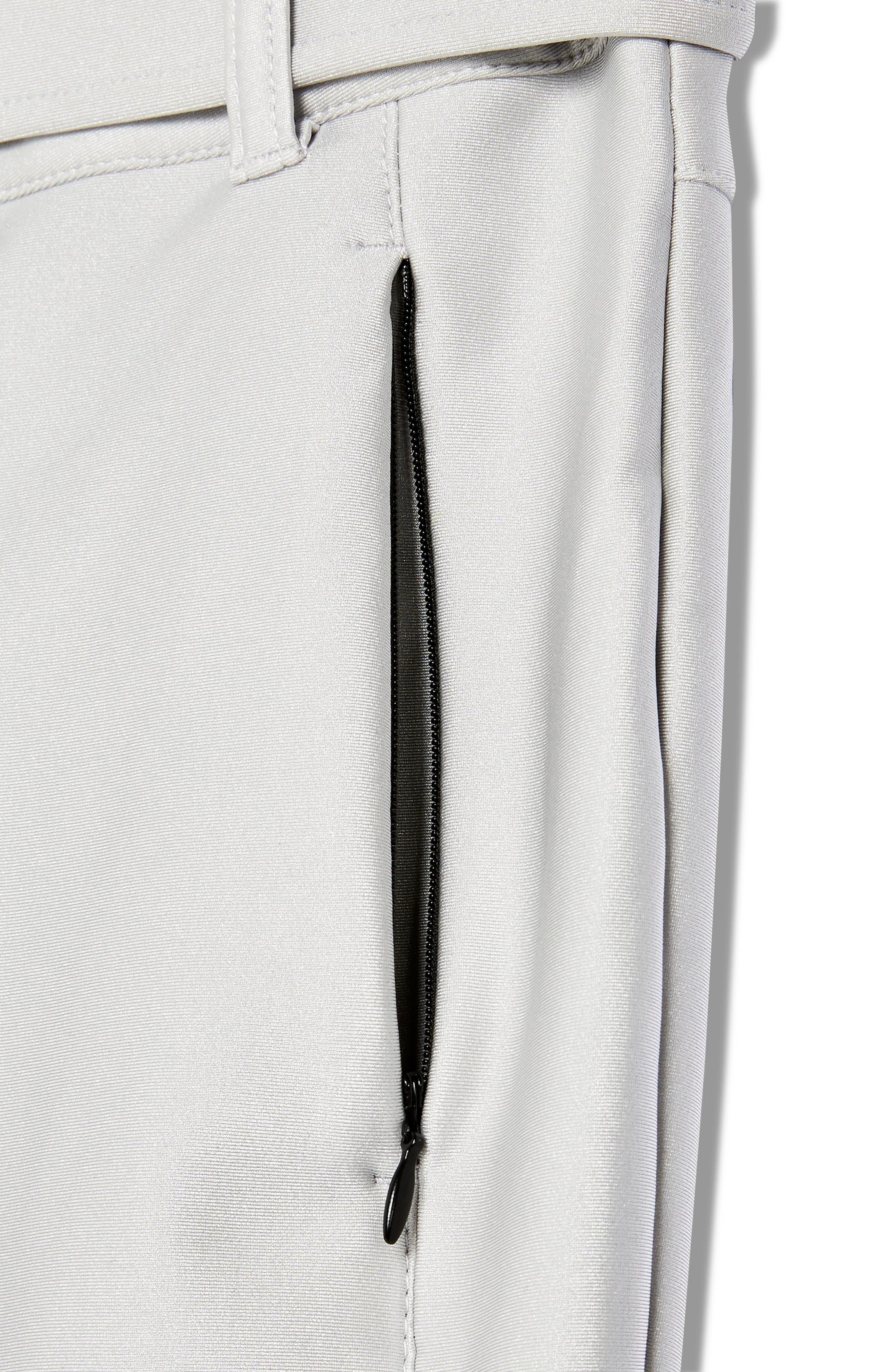 Sno Metallic Alanis Trousers,                             Alternate thumbnail 4, color,                             SILVER MULTI
