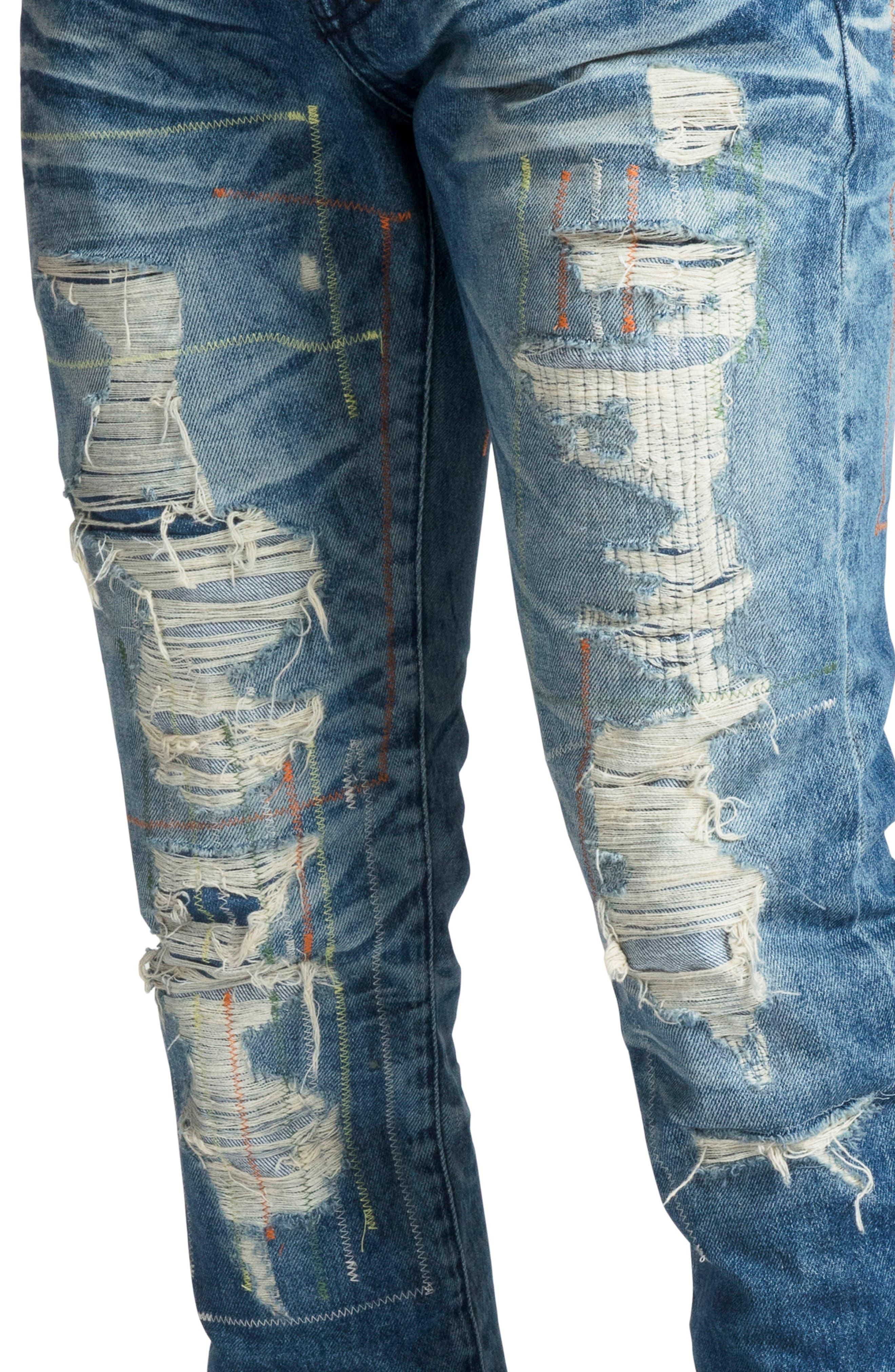 Le Sabre Slim Fit Jeans,                             Alternate thumbnail 4, color,                             COOING