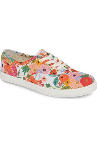 c178b04820 Keds® x Rifle Paper Co. Floral Print Champion Sneaker (Baby