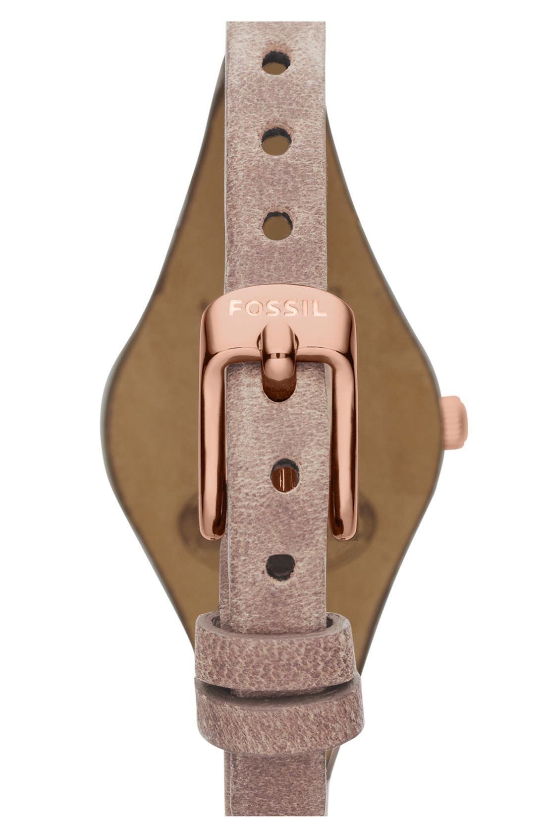 'Small Georgia' Leather Strap Watch, 26mm,                             Alternate thumbnail 33, color,