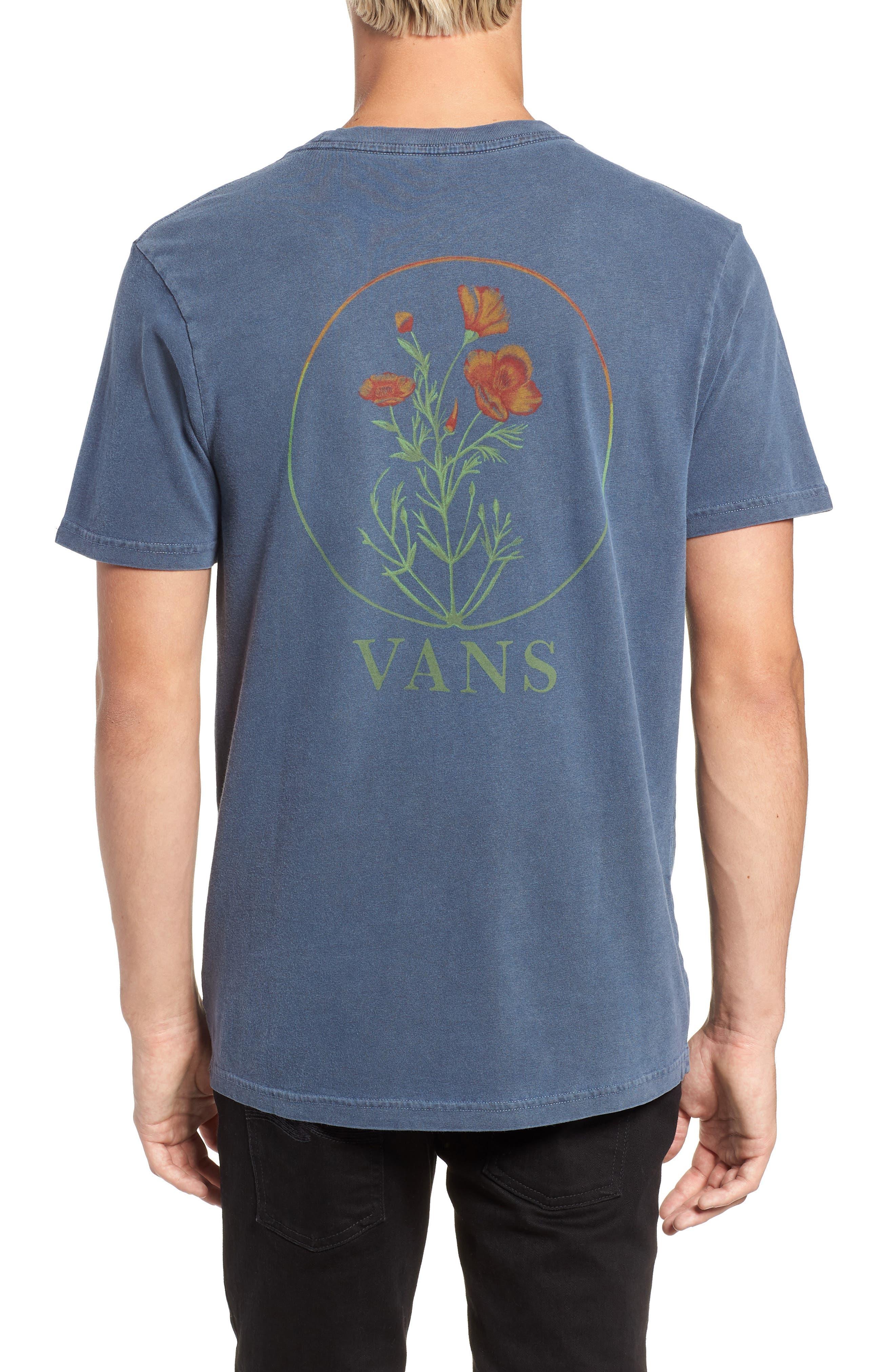 Vintage California Bred Graphic T-Shirt,                             Alternate thumbnail 2, color,                             DRESS BLUES