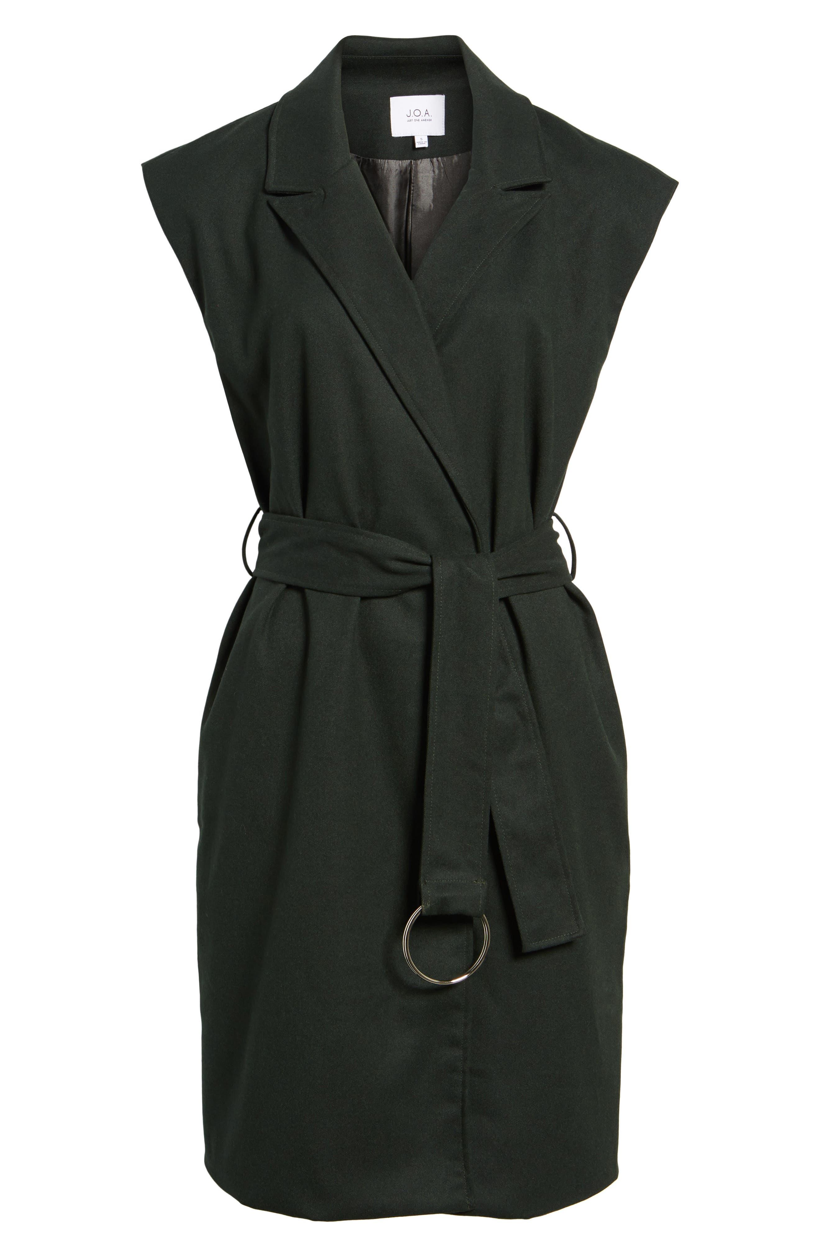 Belted Longline Vest,                             Alternate thumbnail 5, color,                             301