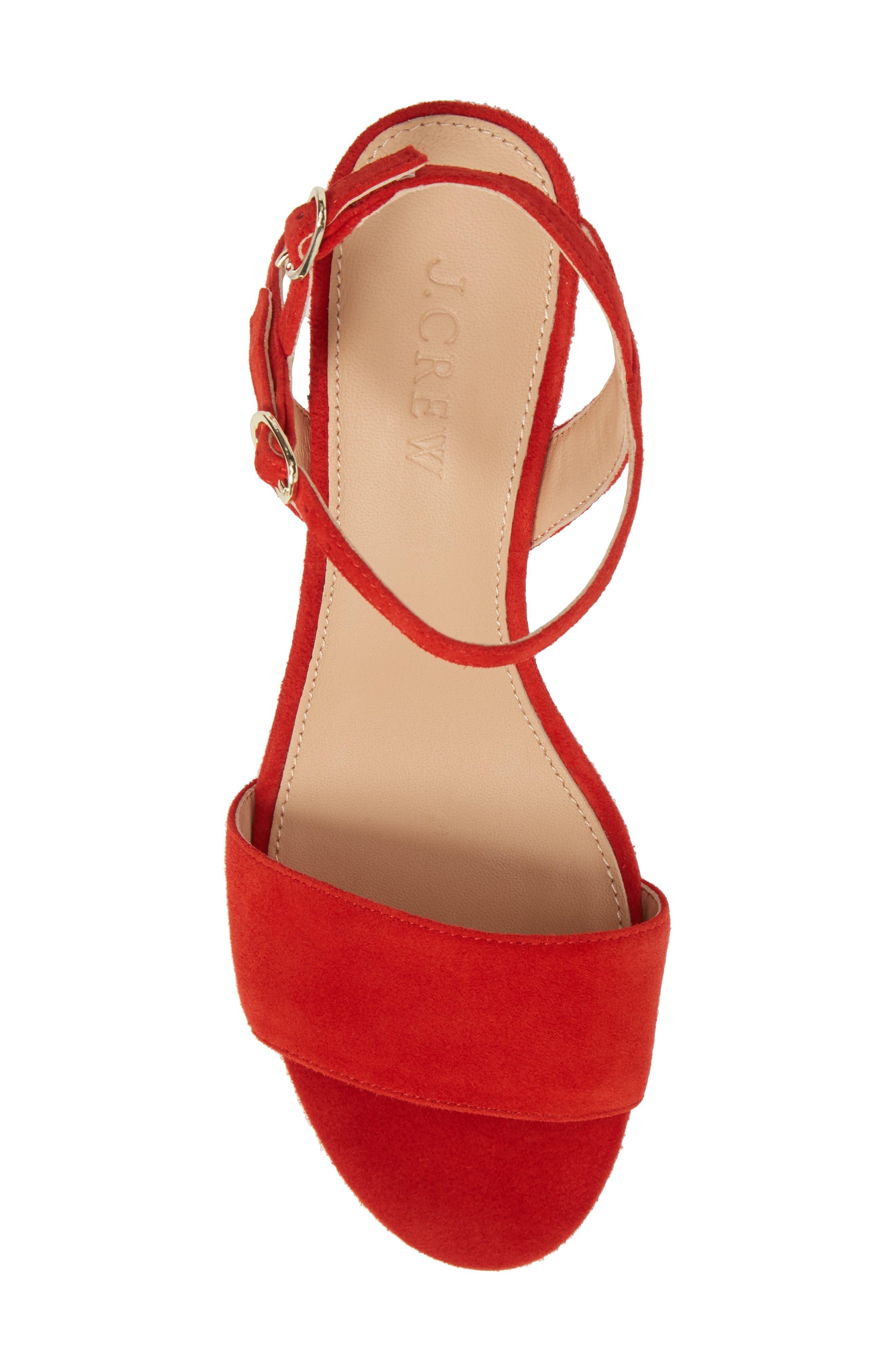Strappy Block Heel Sandal,                             Alternate thumbnail 13, color,