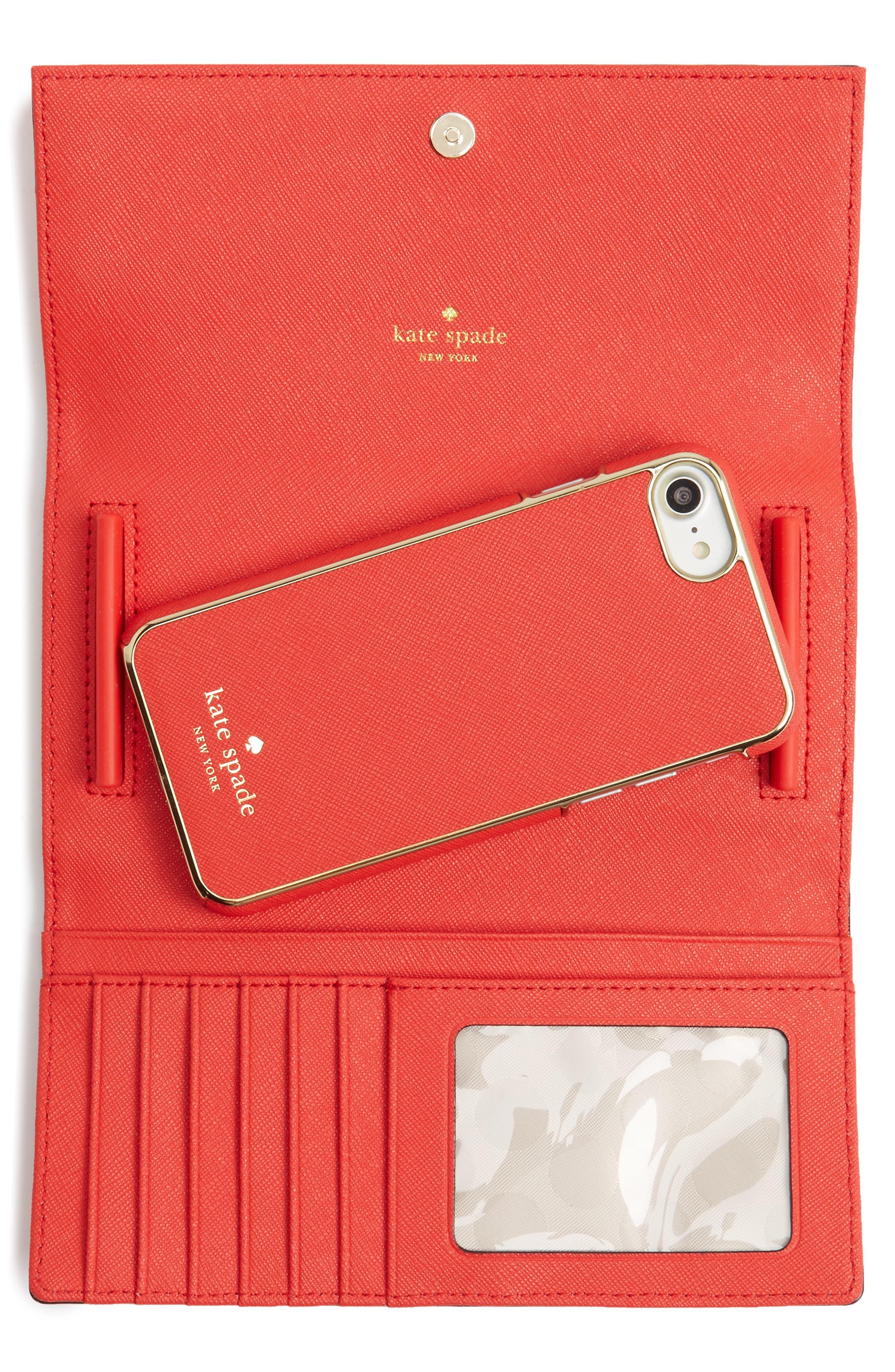 leather iPhone 7/8 & 7/8 Plus case,                             Alternate thumbnail 2, color,                             652
