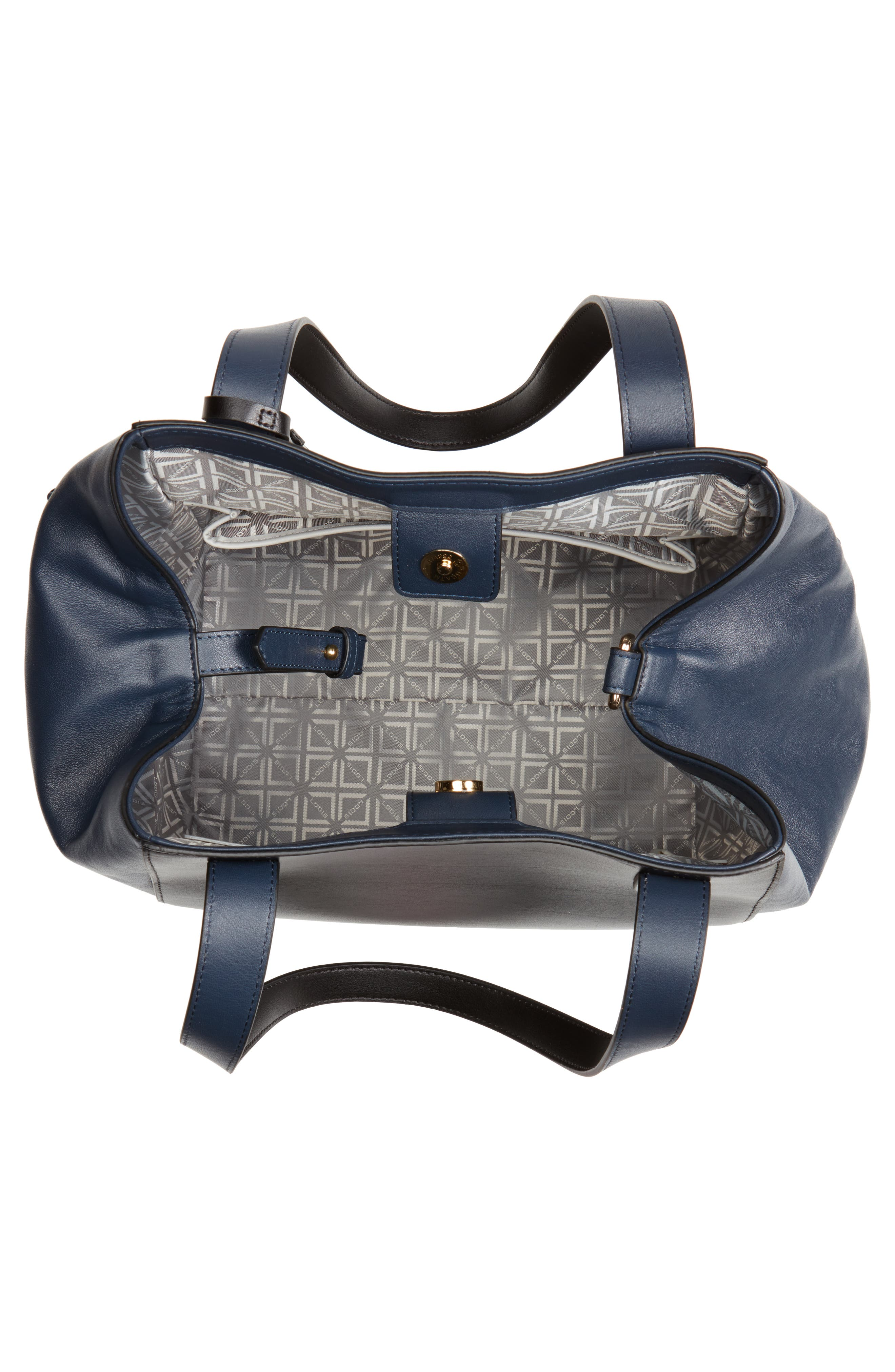 Downtown Charlize RFID Leather Tote,                             Alternate thumbnail 11, color,