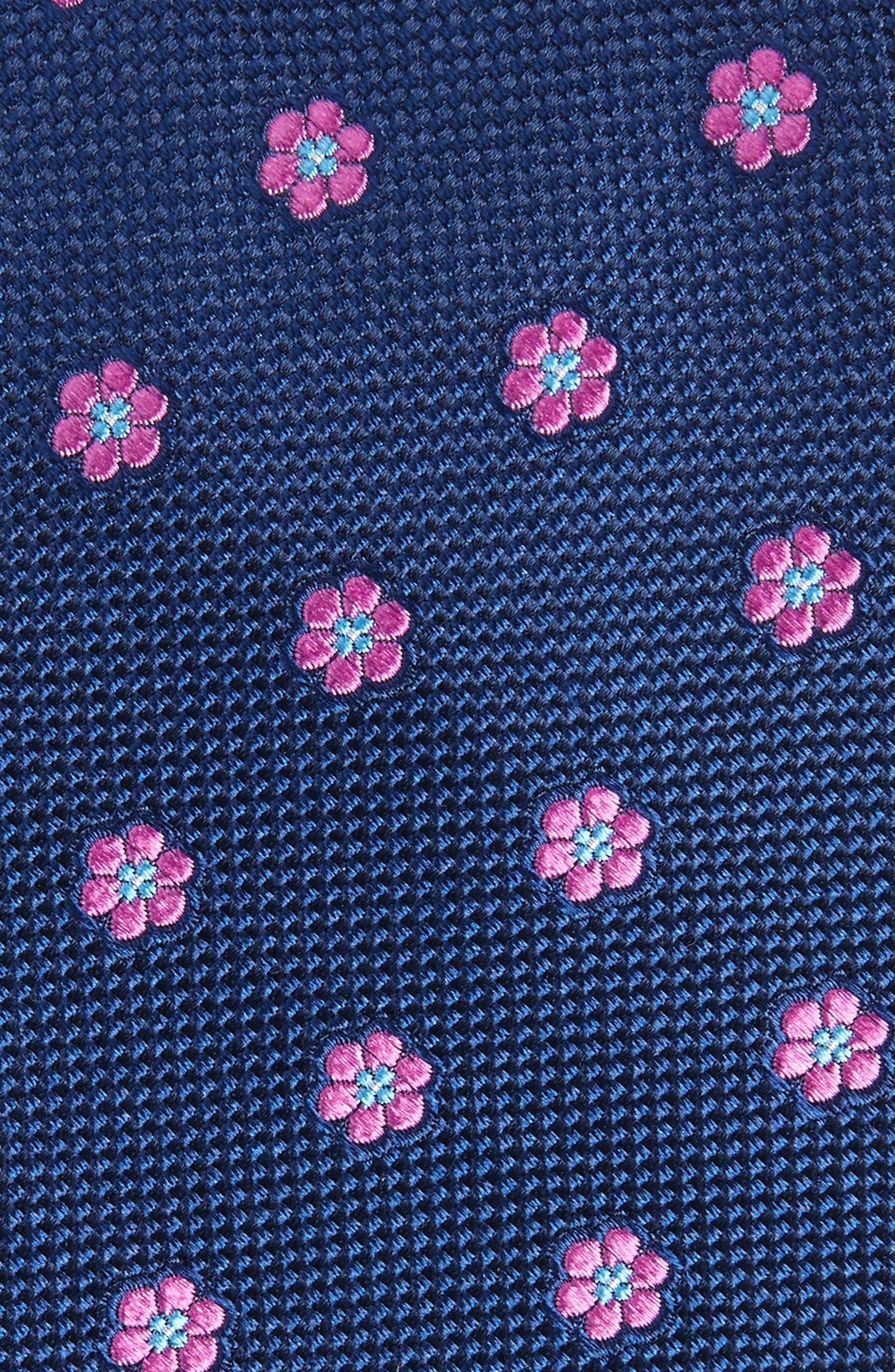 Calibrate Cloisters Neat Silk Tie,                             Alternate thumbnail 11, color,
