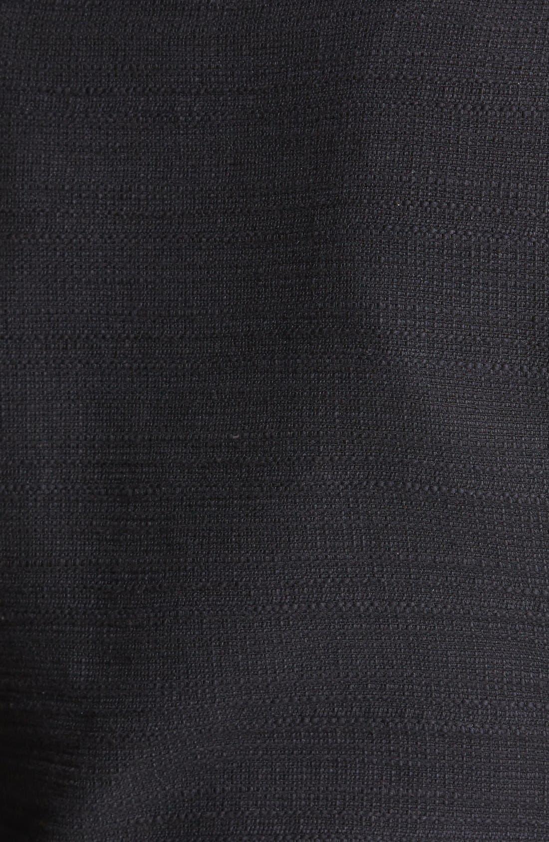HALOGEN<SUP>®</SUP>,                             Cotton Moto Jacket,                             Alternate thumbnail 2, color,                             001