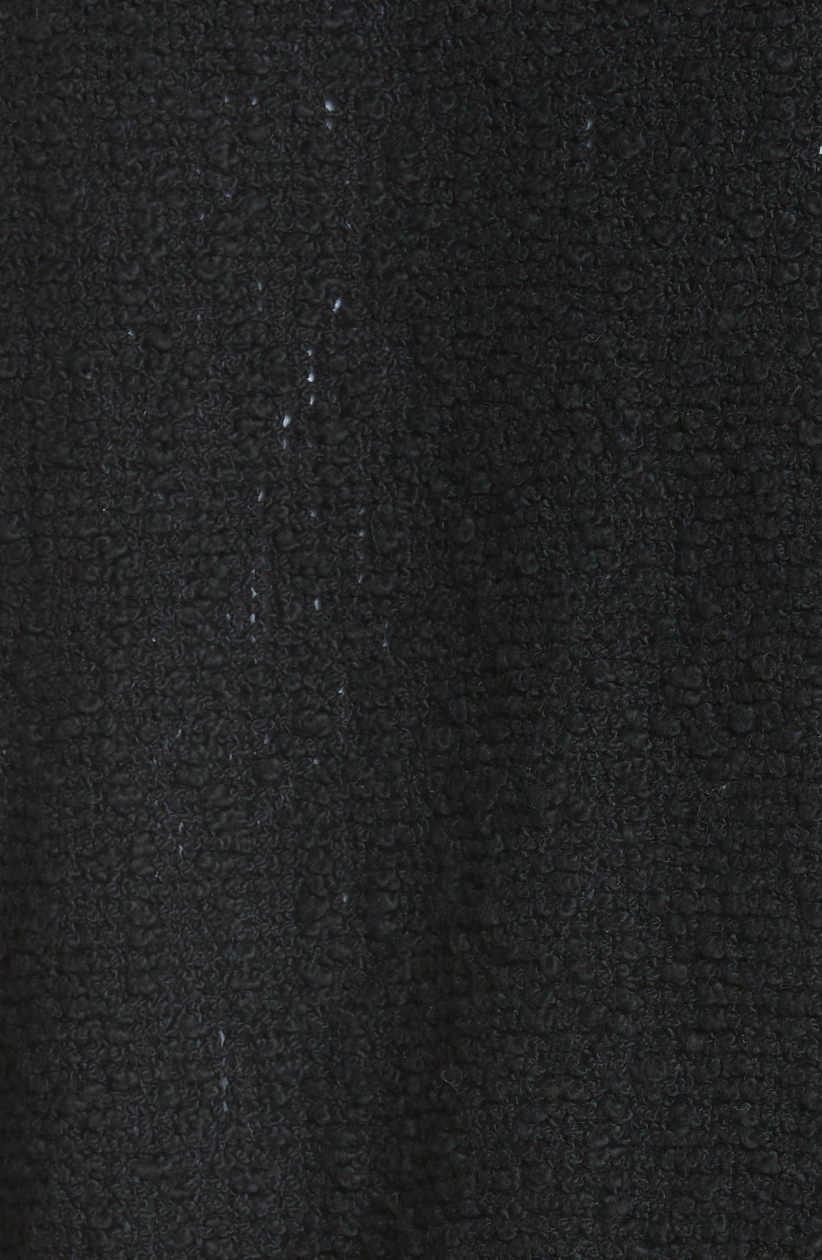 Shavani Tweed Jacket,                             Alternate thumbnail 6, color,                             001
