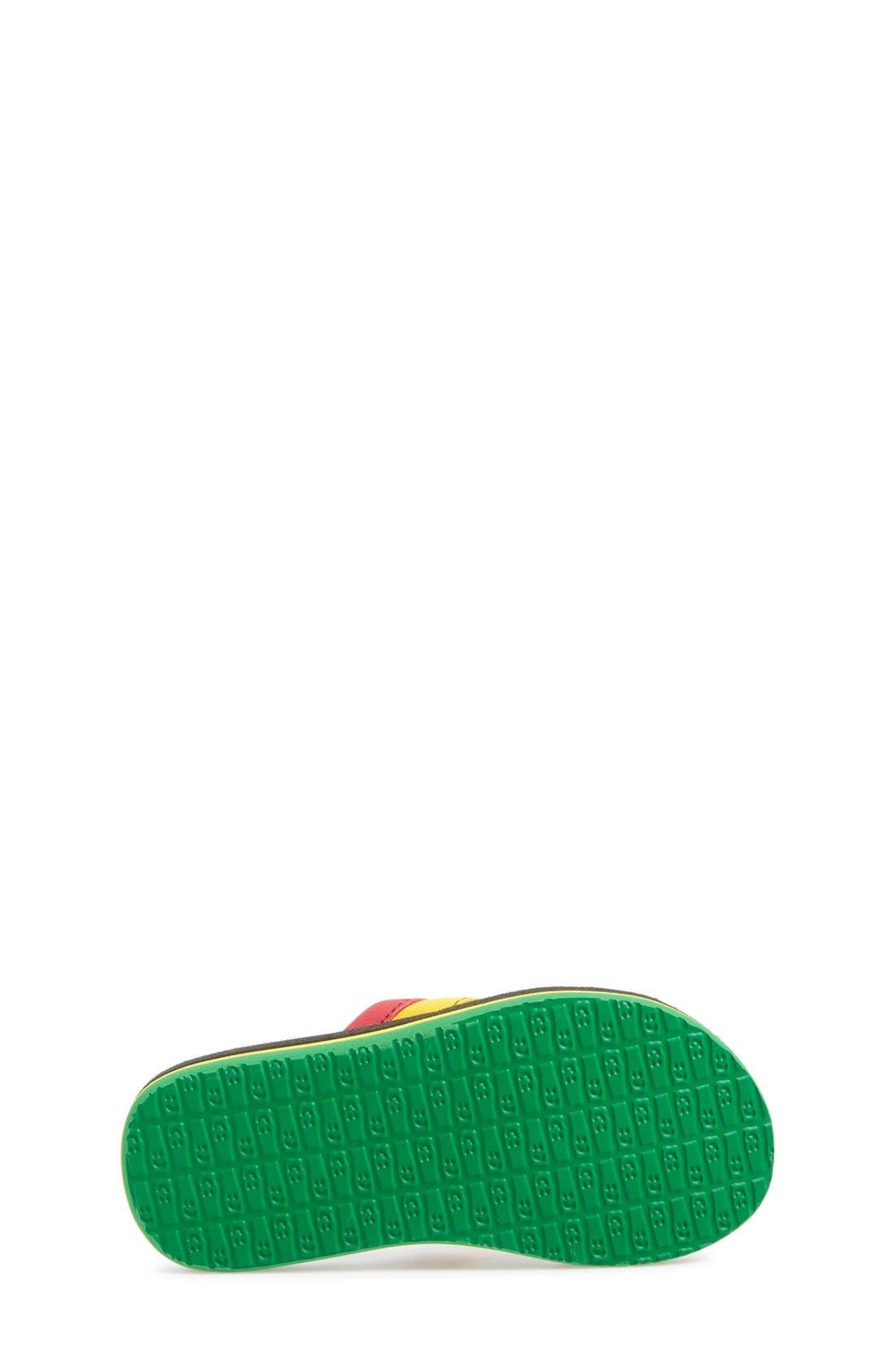 'Rootbeer Cozy' Lightweight Flip Flop Sandal,                             Alternate thumbnail 24, color,