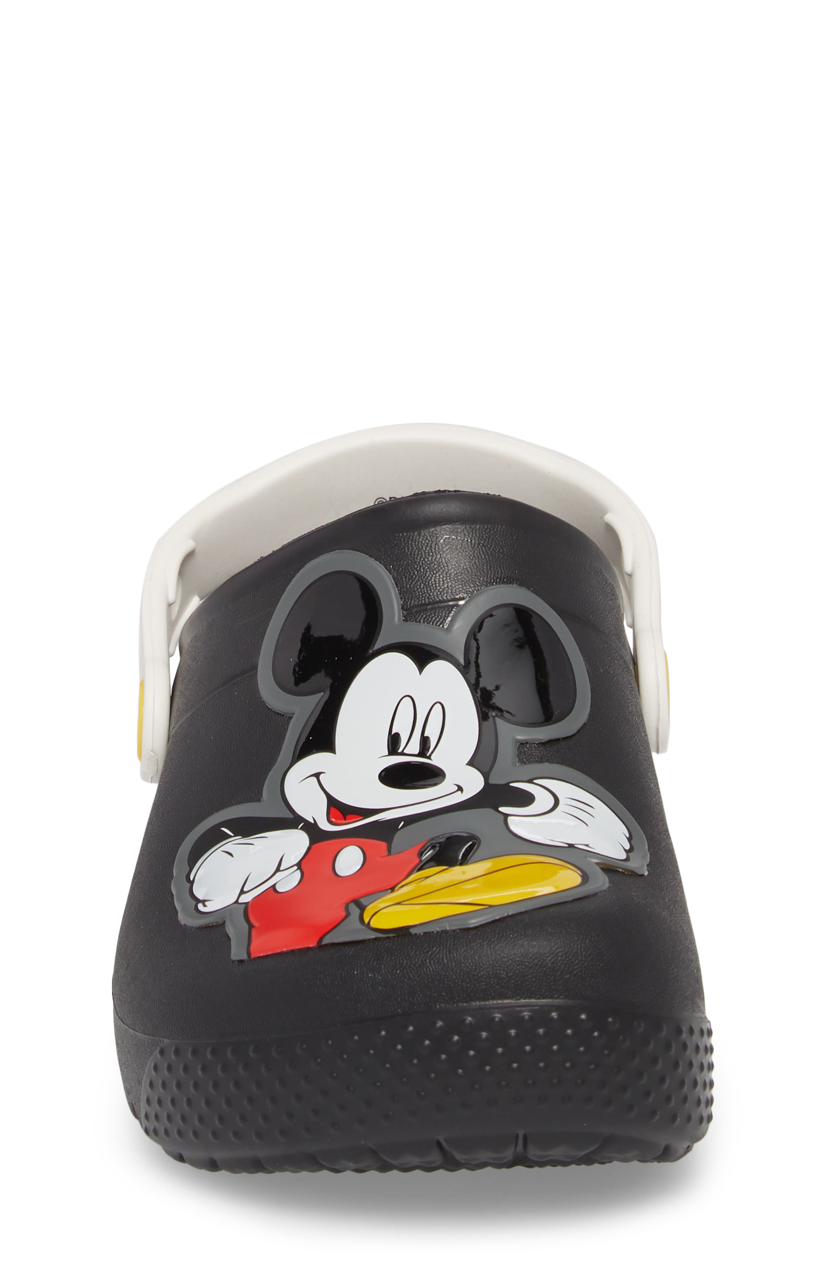Fun Lab Mickey Mouse<sup>®</sup> Clog,                             Alternate thumbnail 4, color,                             001