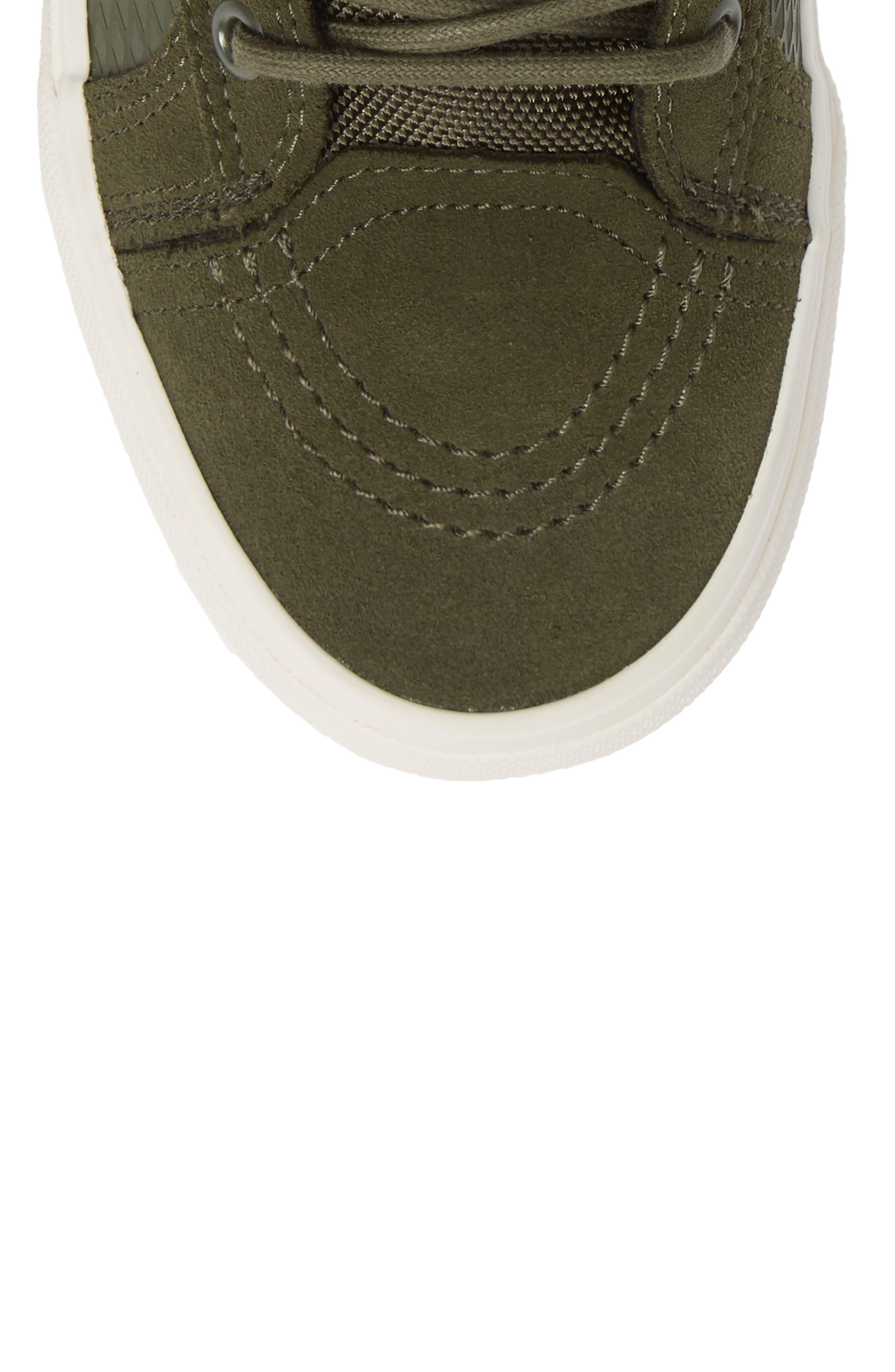 Sk8-Hi 46 MTE DX Sneaker,                             Alternate thumbnail 5, color,                             GRAPE LEAF