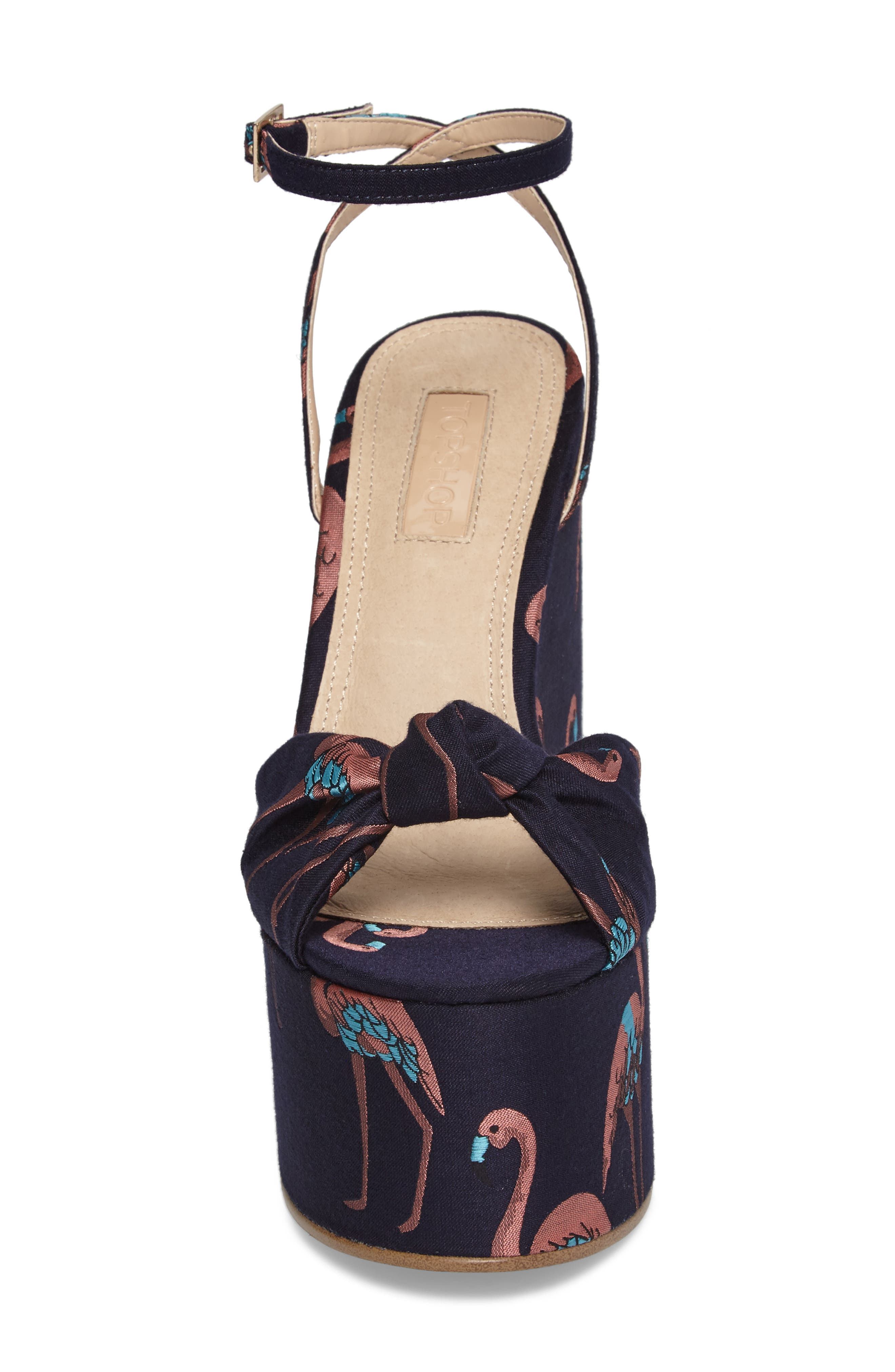 Waltz Knotted Platform Wedge,                             Alternate thumbnail 8, color,
