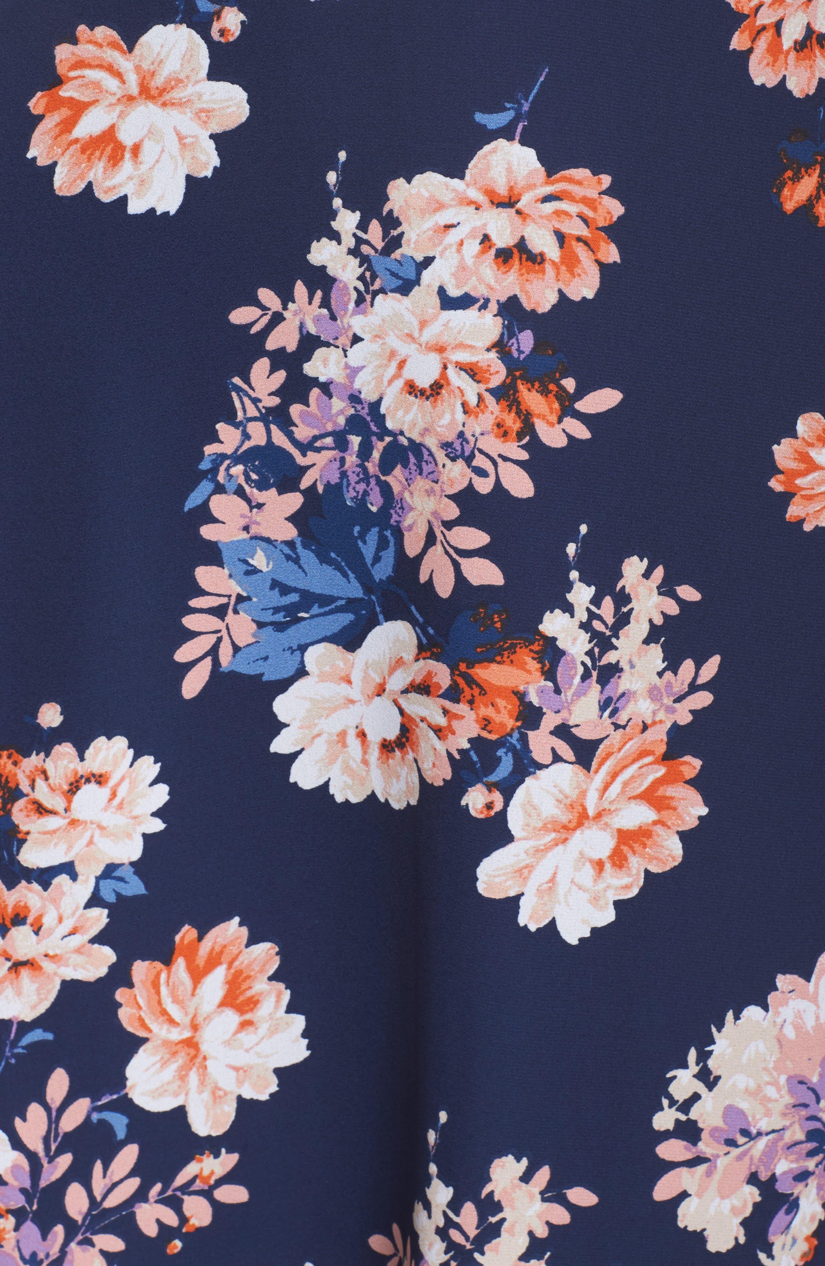 Chasing Butterflies Maxi Dress,                             Alternate thumbnail 5, color,                             400