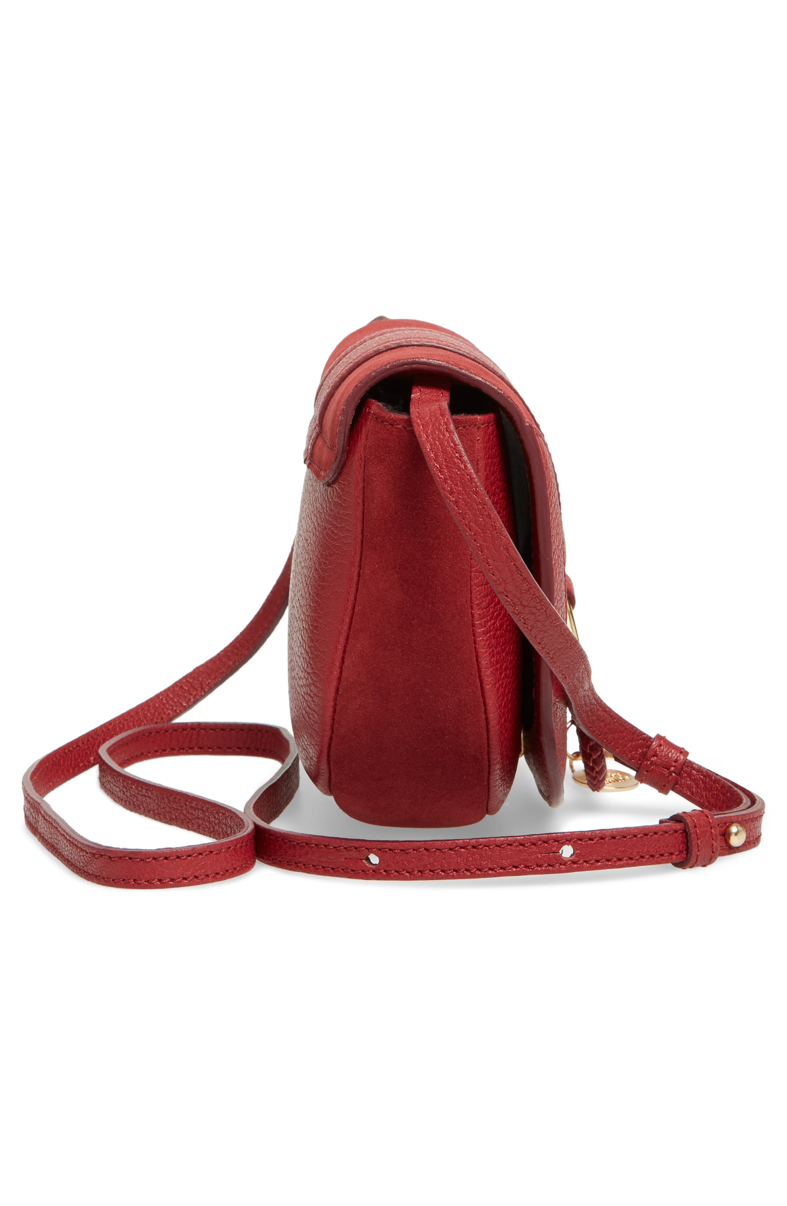 Leather Bag,                             Alternate thumbnail 18, color,