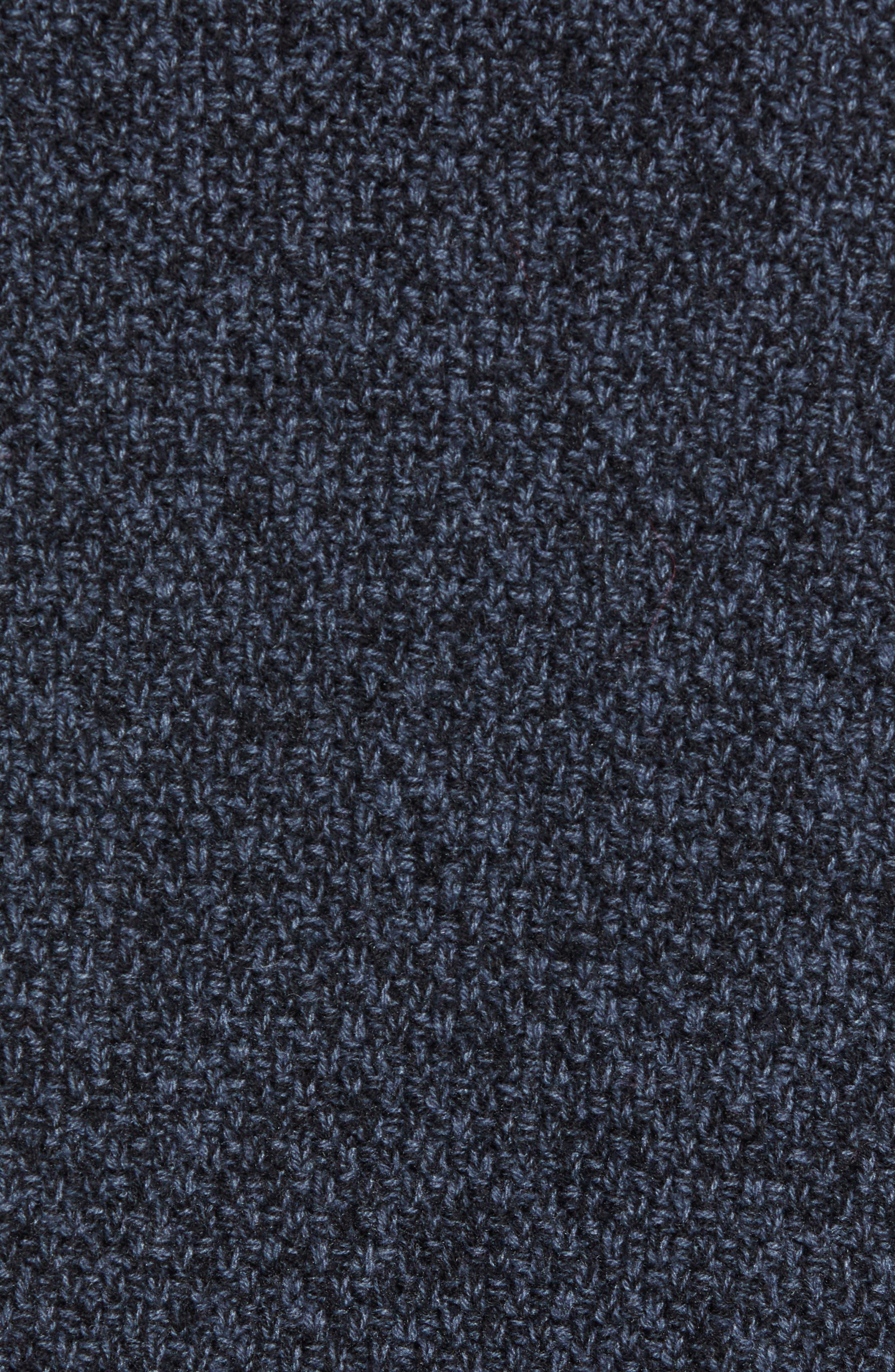 Montreal Slim Fit Crewneck Sweater,                             Alternate thumbnail 5, color,                             NAVY