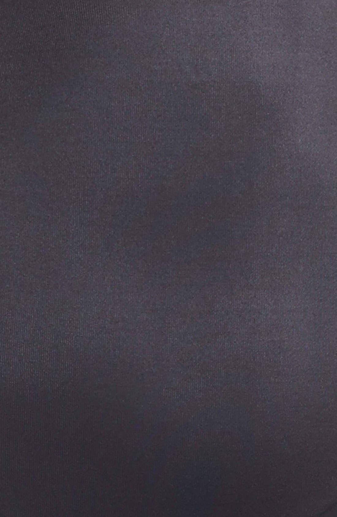 Torsette Underbust Mid Thigh Bodysuit Shaper,                             Alternate thumbnail 9, color,                             BLACK