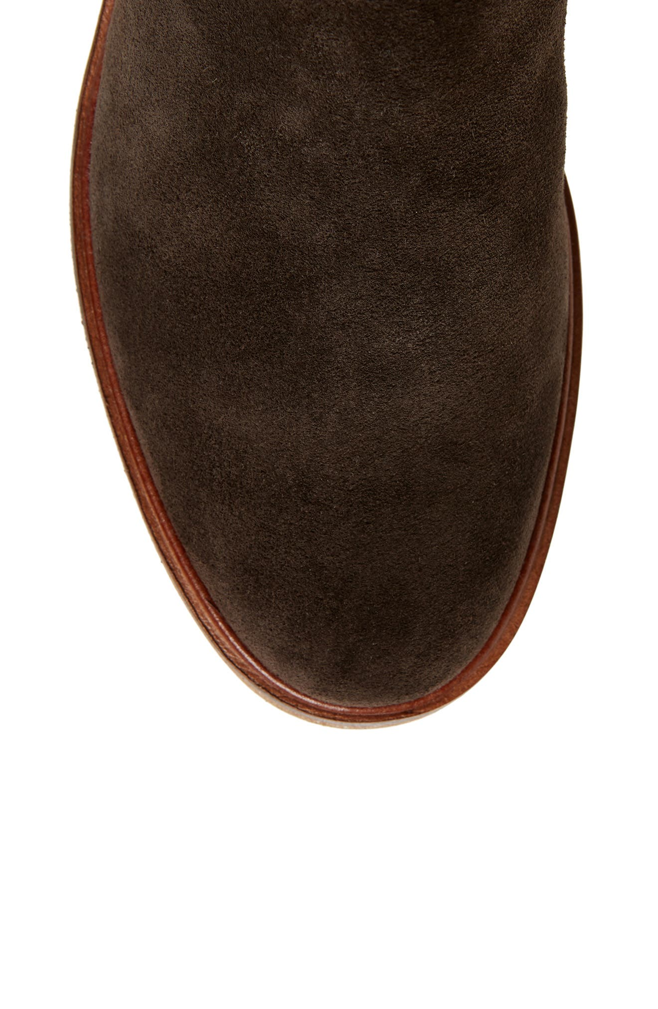 Clarkdale Clad Boot,                             Alternate thumbnail 5, color,                             BROWN SUEDE