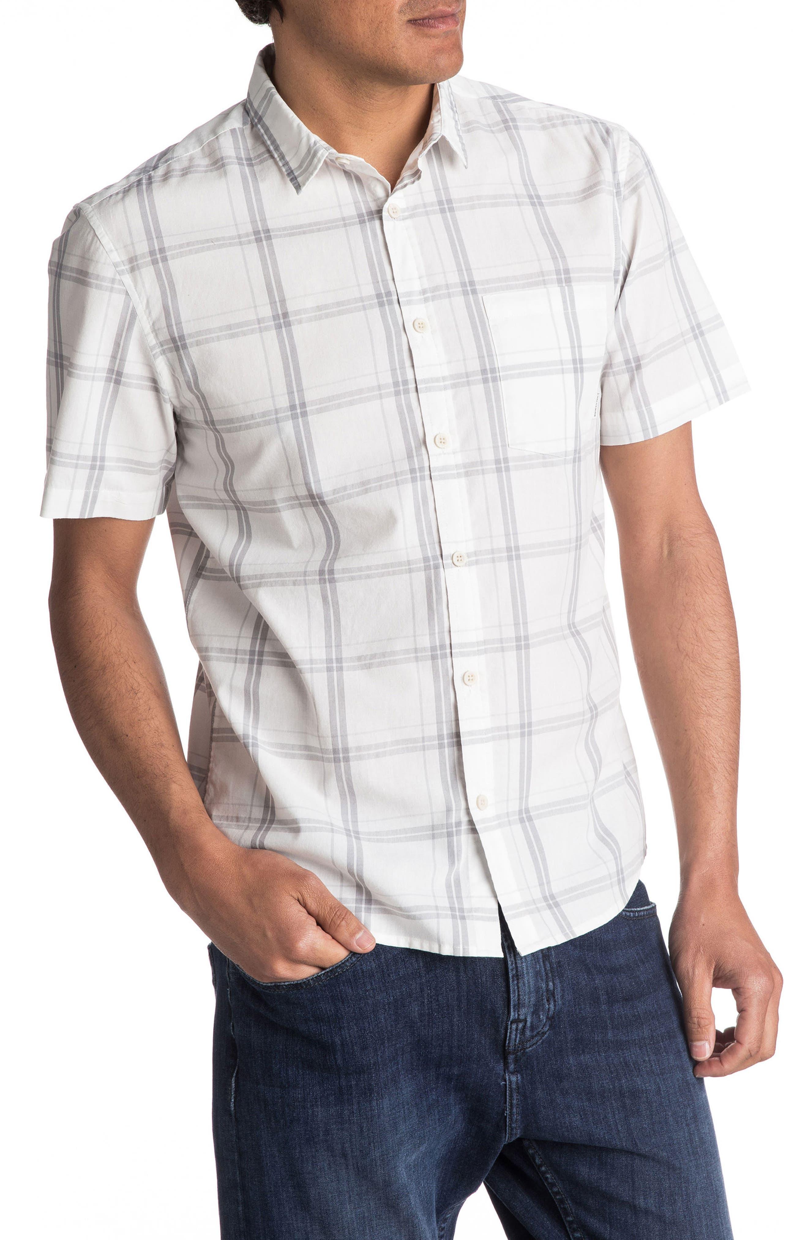 Capen Rise Check Woven Shirt,                         Main,                         color, 101