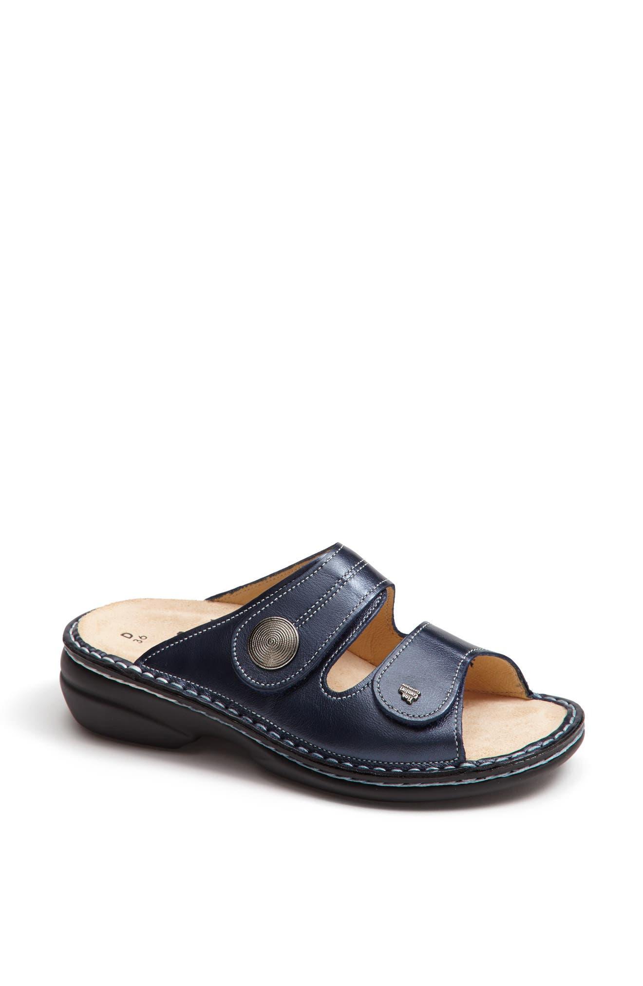 'Sansibar' Sandal,                             Alternate thumbnail 4, color,                             MARINE