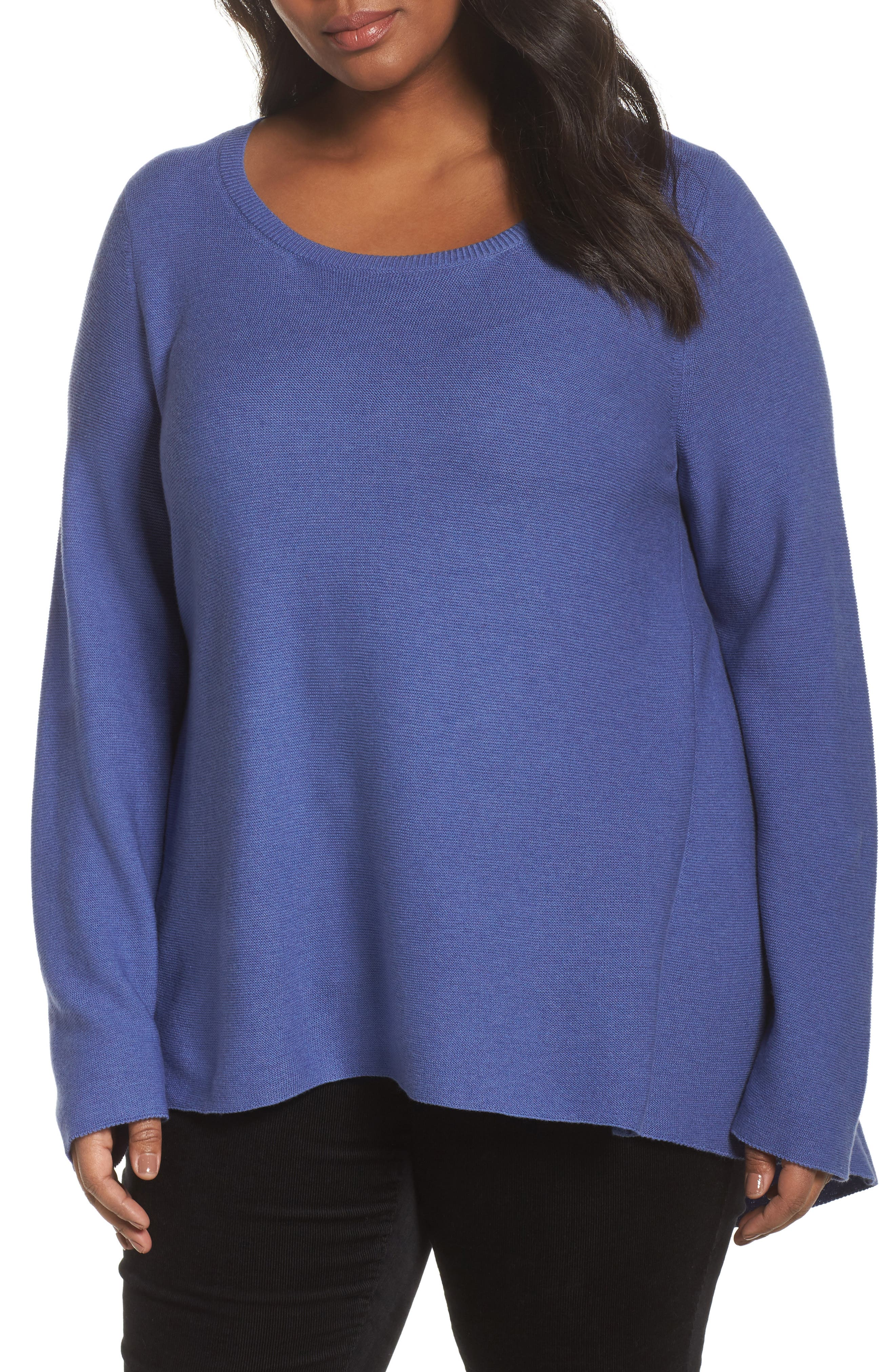 Organic Cotton High/Low Tunic,                             Main thumbnail 2, color,