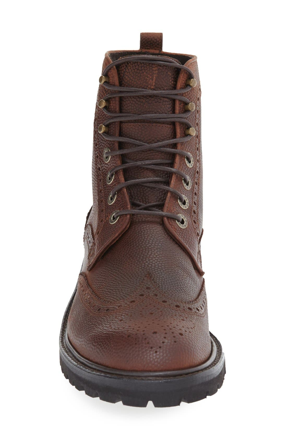 WOLVERINE,                             'Percy' Wingtip Boot,                             Alternate thumbnail 3, color,                             200