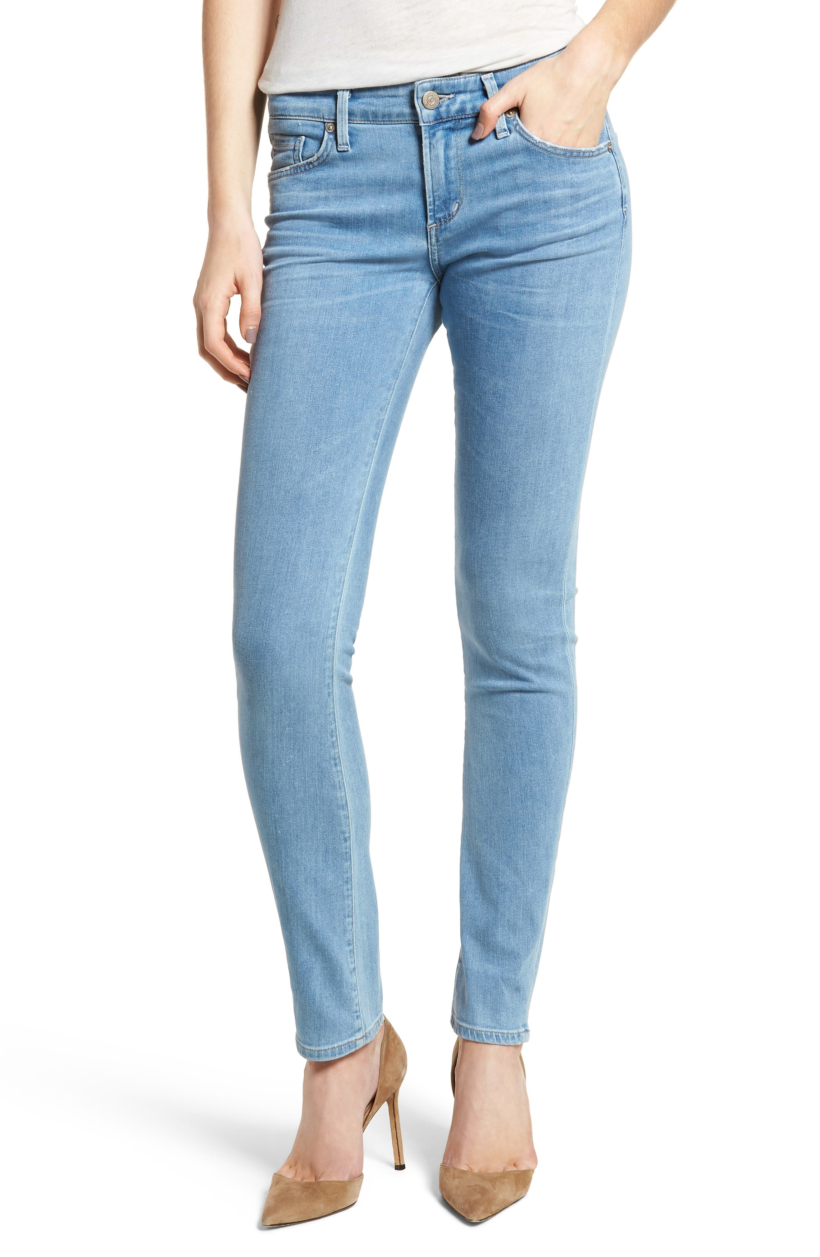 Arielle Slim Jeans,                         Main,                         color, 455