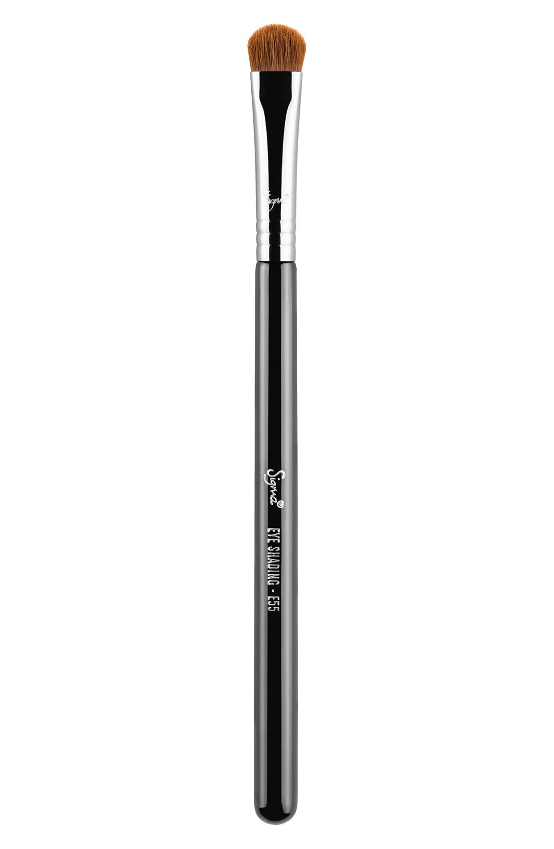 SIGMA BEAUTY E55 Eye Shading Brush, Main, color, NO COLOR