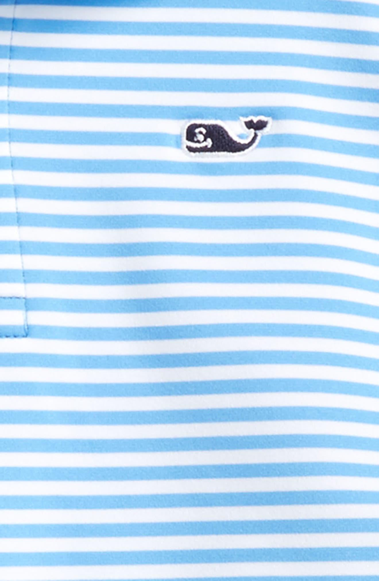 Color & Color Feeder Stripe Performance Polo,                             Alternate thumbnail 2, color,                             484