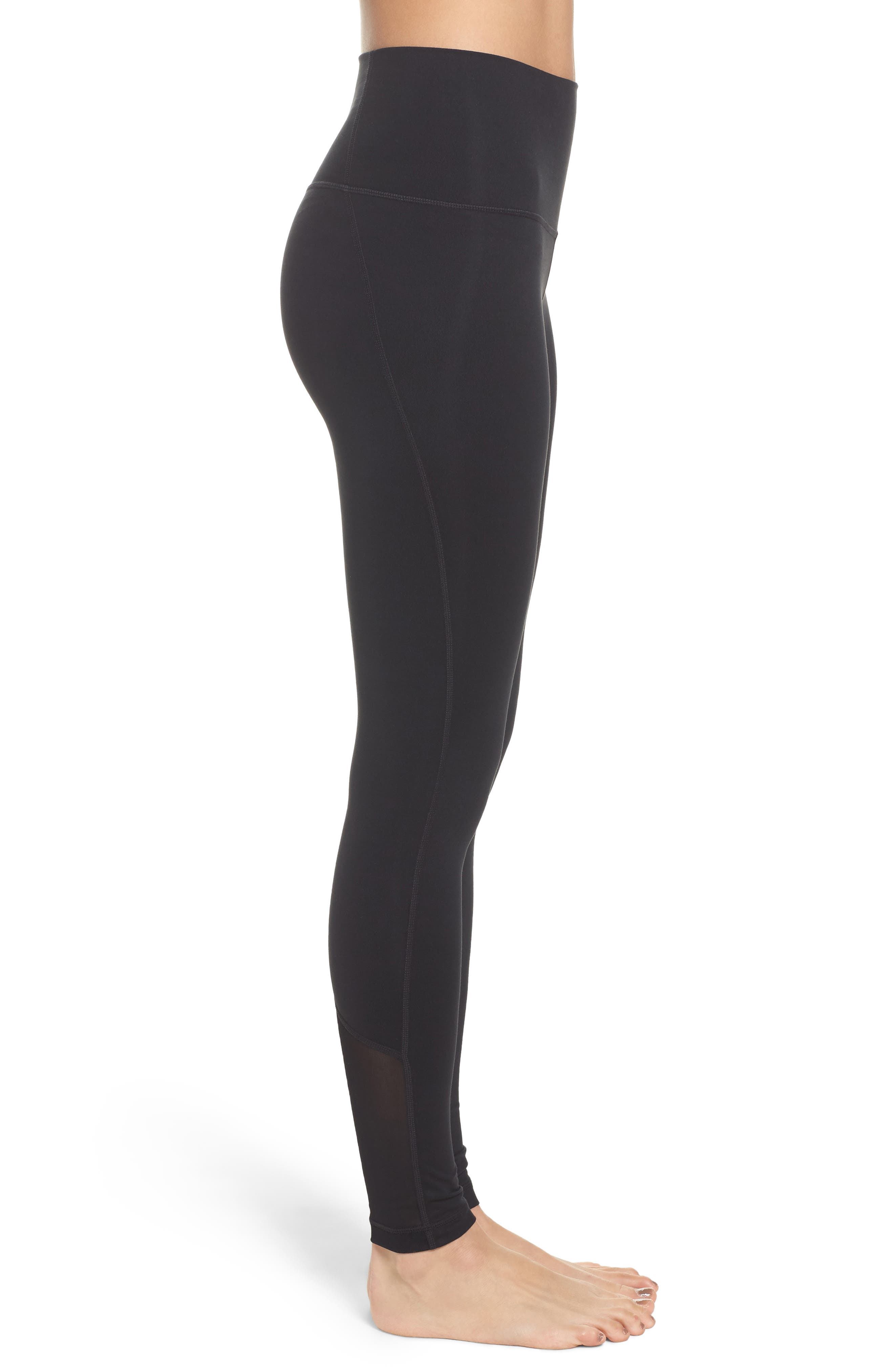 High Waist Asana Light Leggings,                             Alternate thumbnail 8, color,