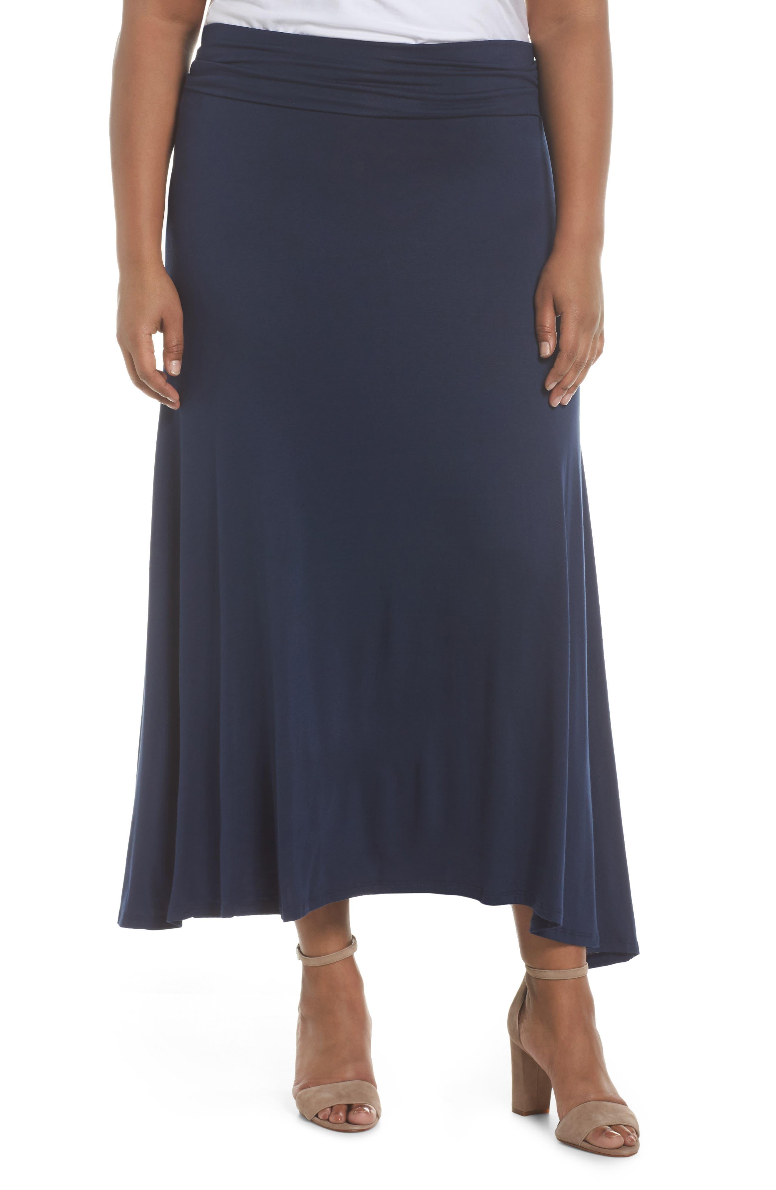 Foldover Knit Skirt,                             Main thumbnail 3, color,