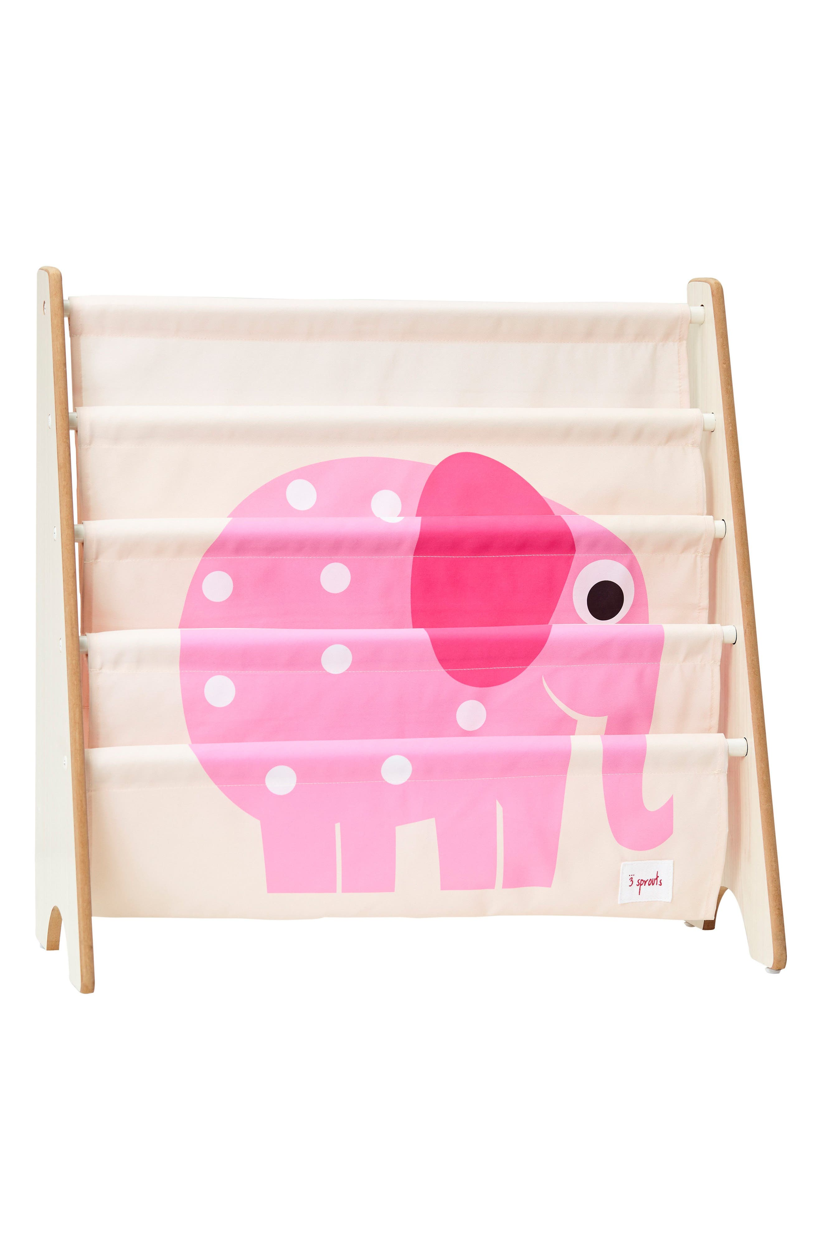 Elephant Book Rack,                         Main,                         color,